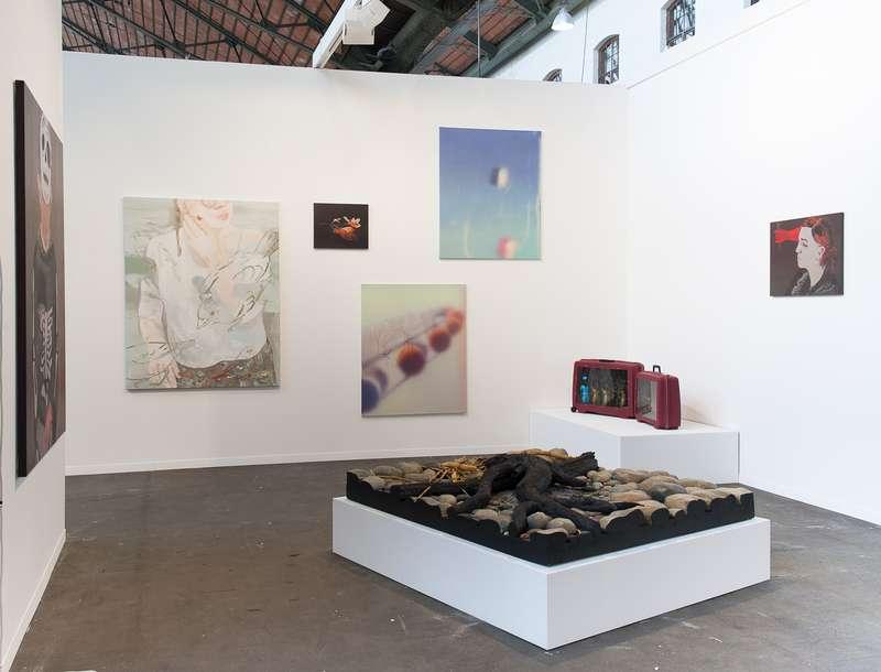 Steve Gianakos, Piero Gilardi, Françoise Pétrovitch, Présence Panchounette & Julien Tiberi Art Brussels (BE) Semiose 21 — 23 avril 2017