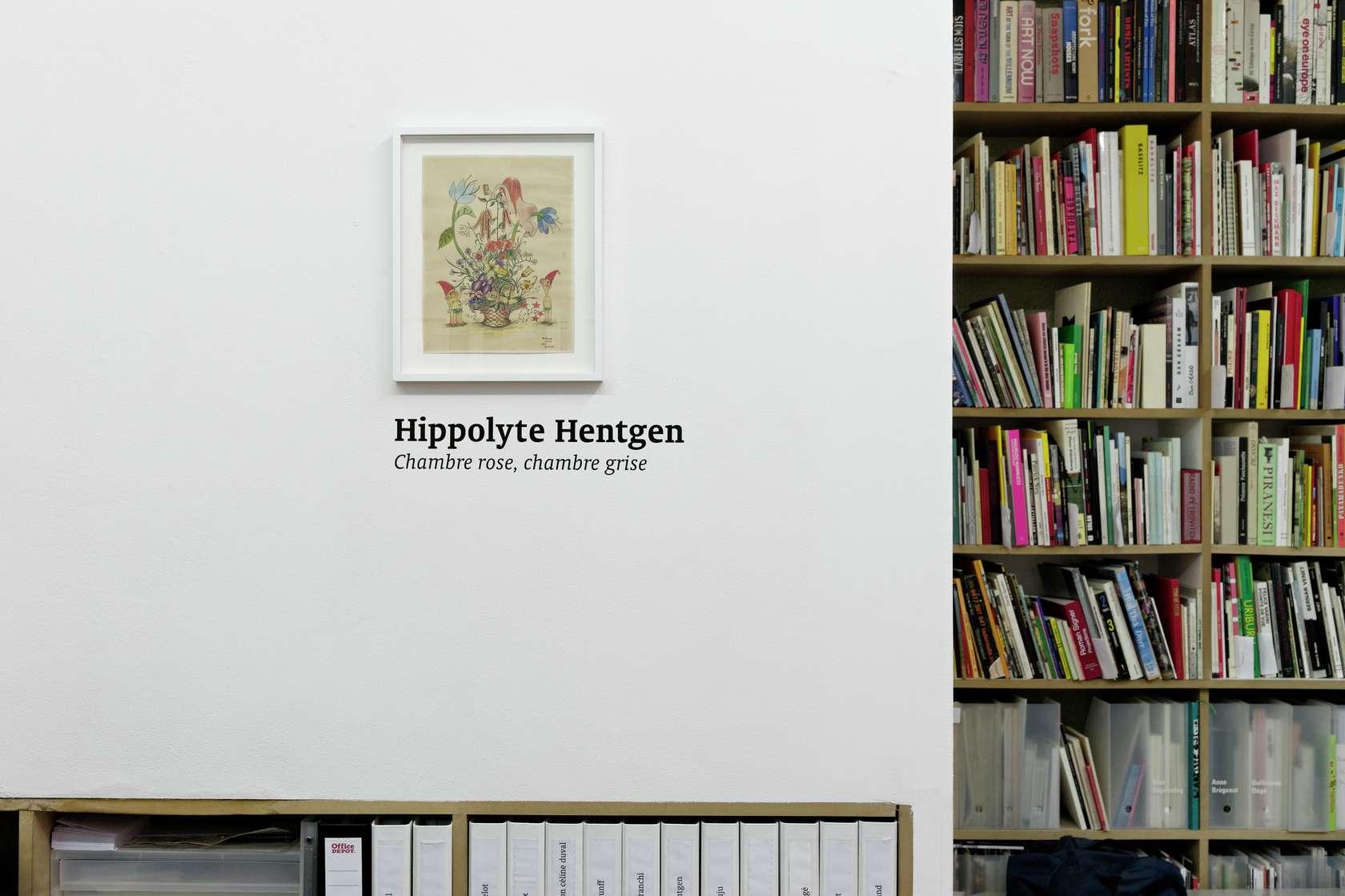 Hippolyte Hentgen Chambre rose, chambre grise Semiose 8 septembre  — 6 octobre 2012