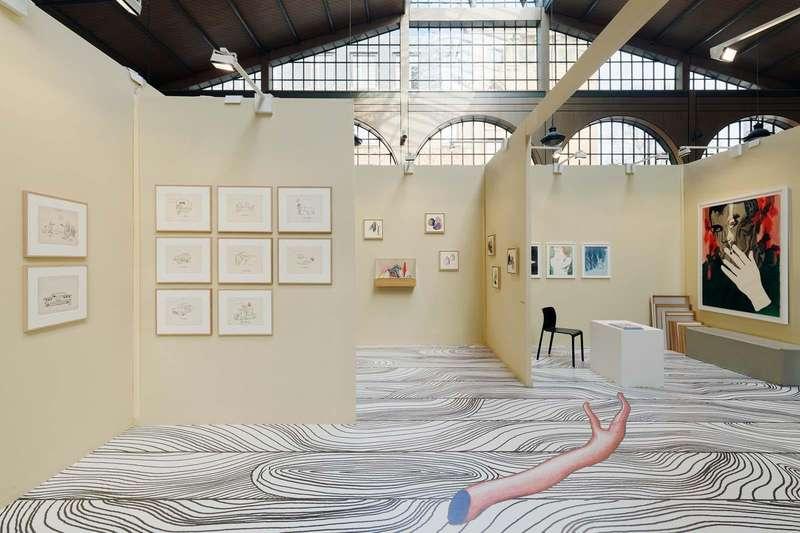 Chaval, Guillaume Dégé, Hippolyte Hentgen, Thomas Lanfranchi & Françoise Pétrovitch Drawing Now, Paris (FR) Semiose 28 — 31 mars 2019