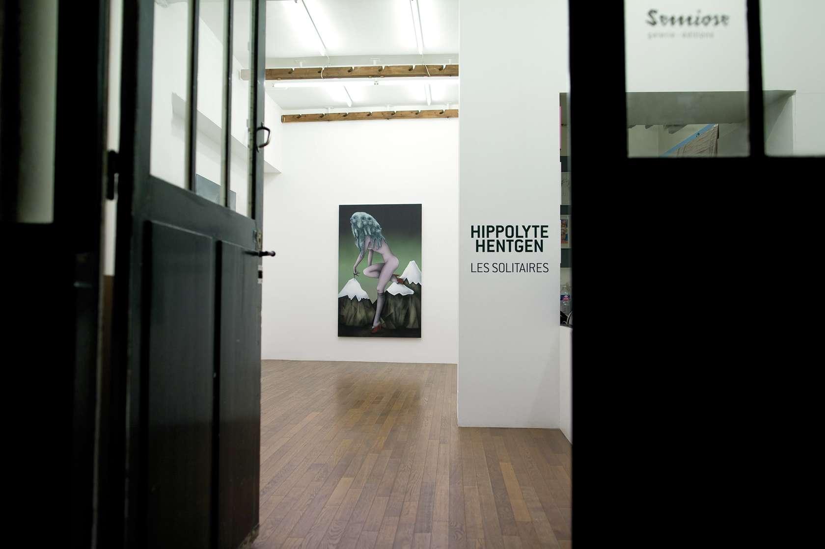 Hippolyte Hentgen Les solitaires Semiose 3 septembre  — 23 octobre 2010