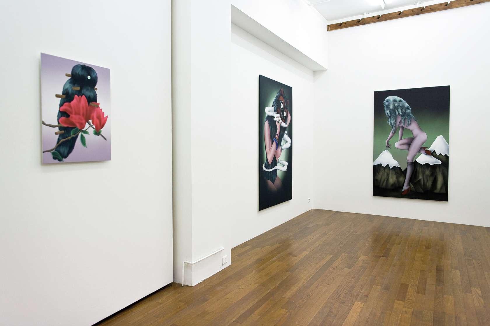 Hippolyte Hentgen, Les solitaires 3 septembre  — 23 octobre 2010