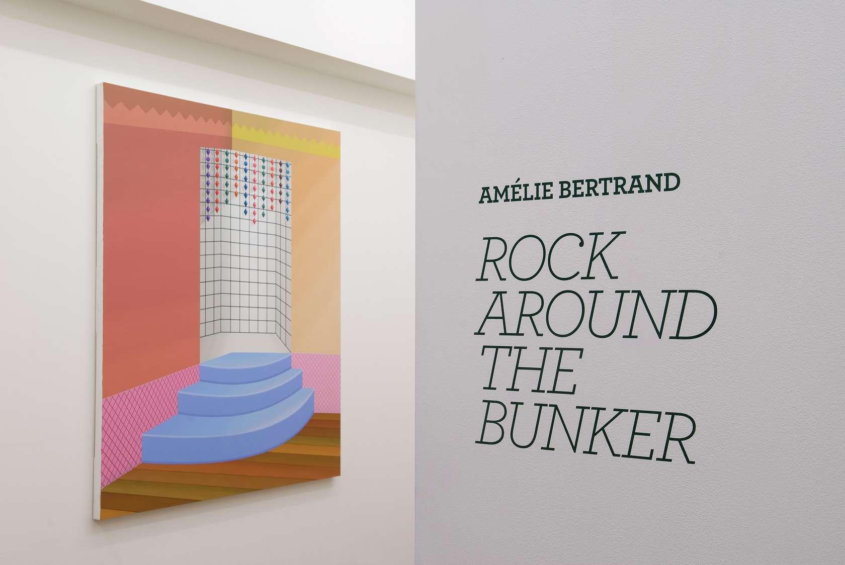 Amélie Bertrand Rock around the bunker Semiose 9 avril  — 22 mai 2010