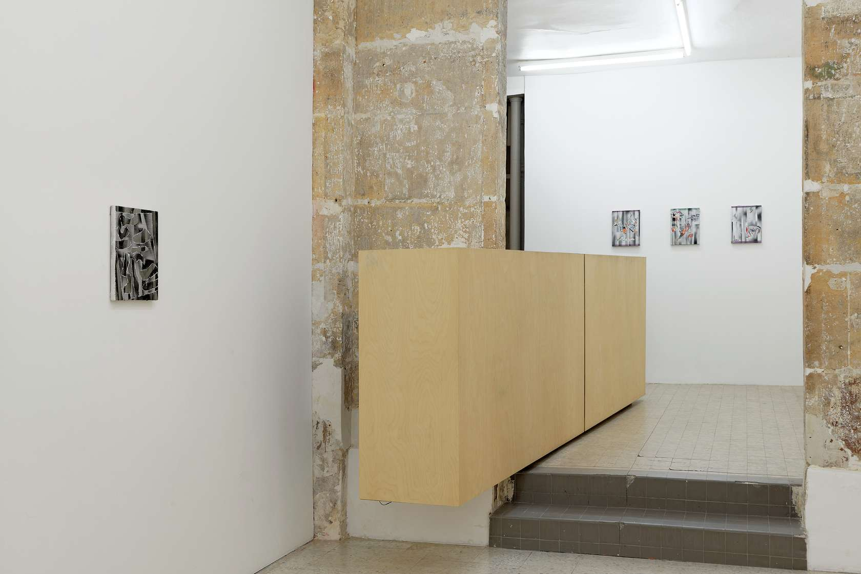 documentation céline duval, Jane Harris, Laurent Proux & Bruno Rousselot, Tableaux 22 février  — 22 mars 2014