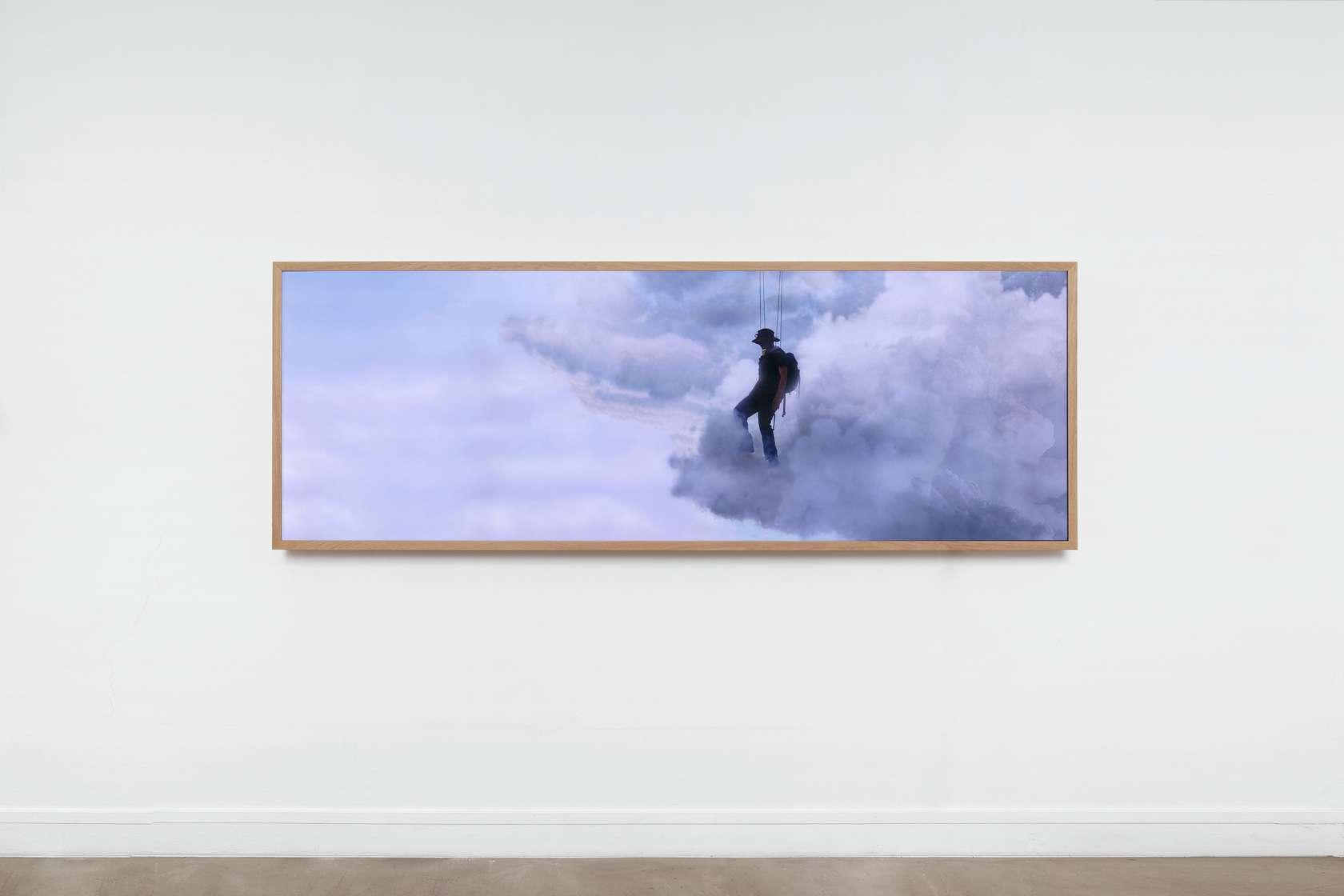 Abraham Poincheval Walk on Clouds Semiose