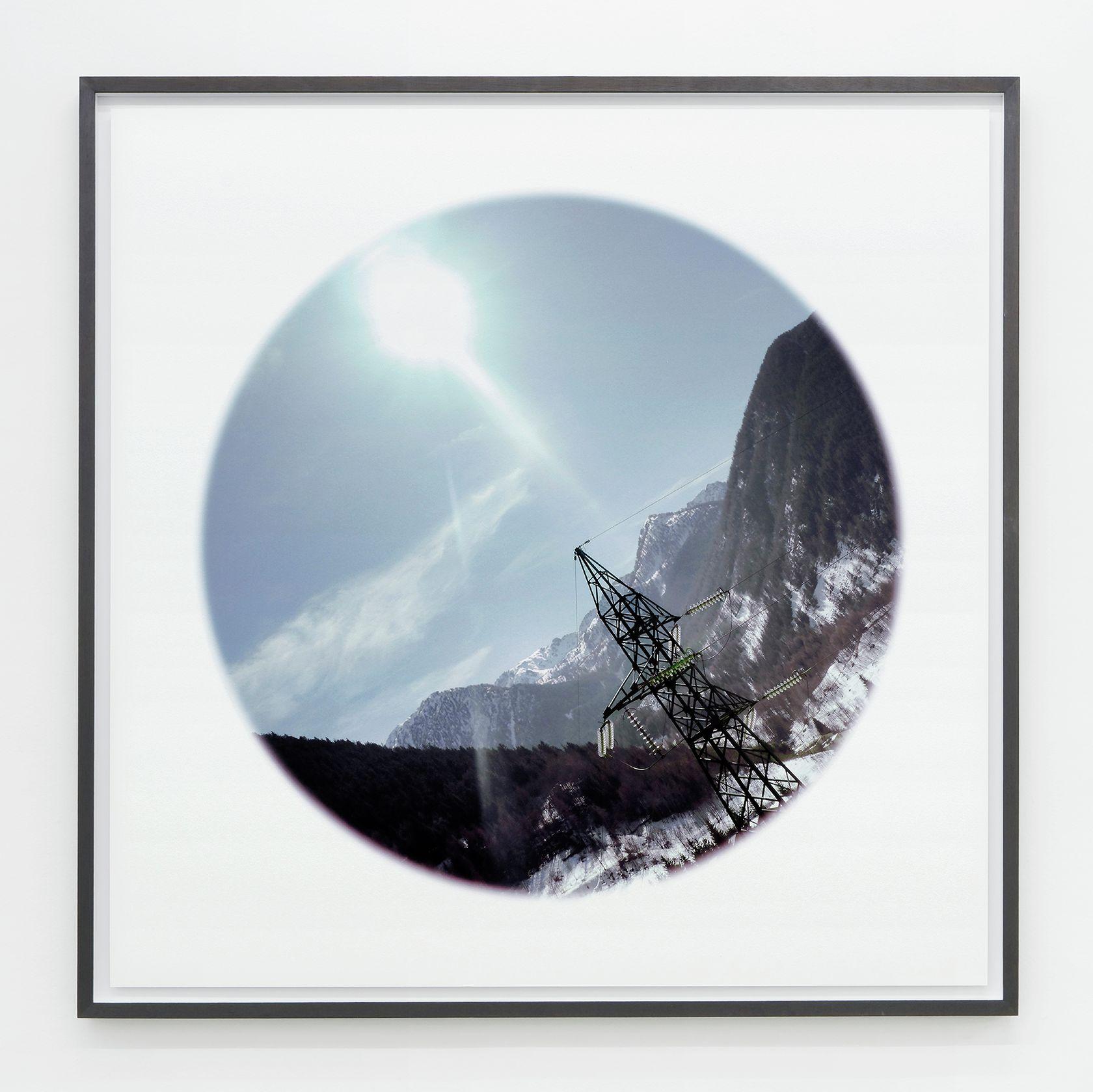 Abraham Poincheval, Gyrovague - Saison II, 2011 - 2012 Tirage pigmentaire sur papier coton contrecollé sur aluminium110 × 110 cm / 43 2/8 × 43 2/8 in.