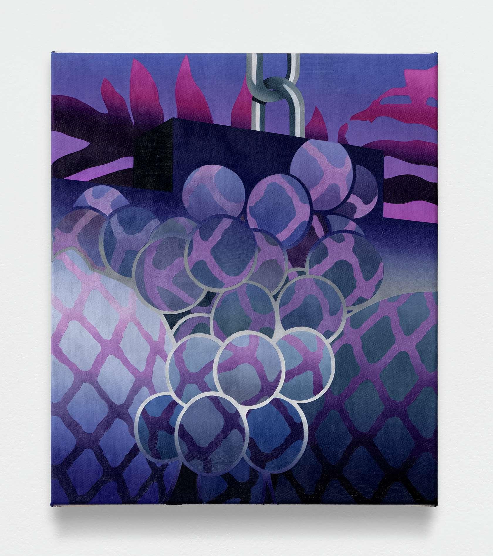 Amélie Bertrand, Tight Curve  I, 2019 Huile sur toile35 x 30cm / 13 6/8 x 11 6/8inches