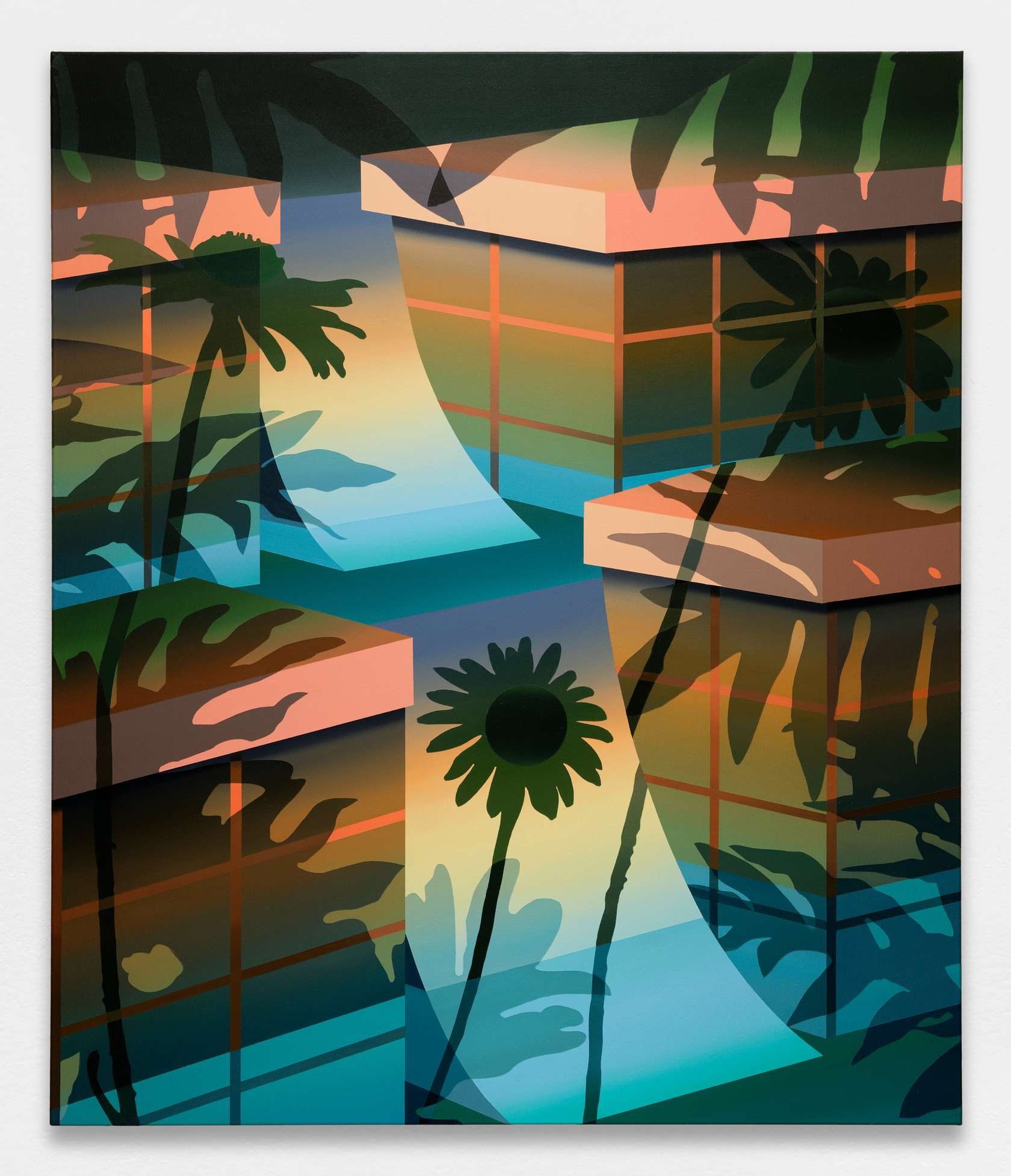 Amélie Bertrand, Man on the Moon Marigold, 2020 Huile sur toile100 × 85 cm / 39 3/8 × 33 1/2 in.