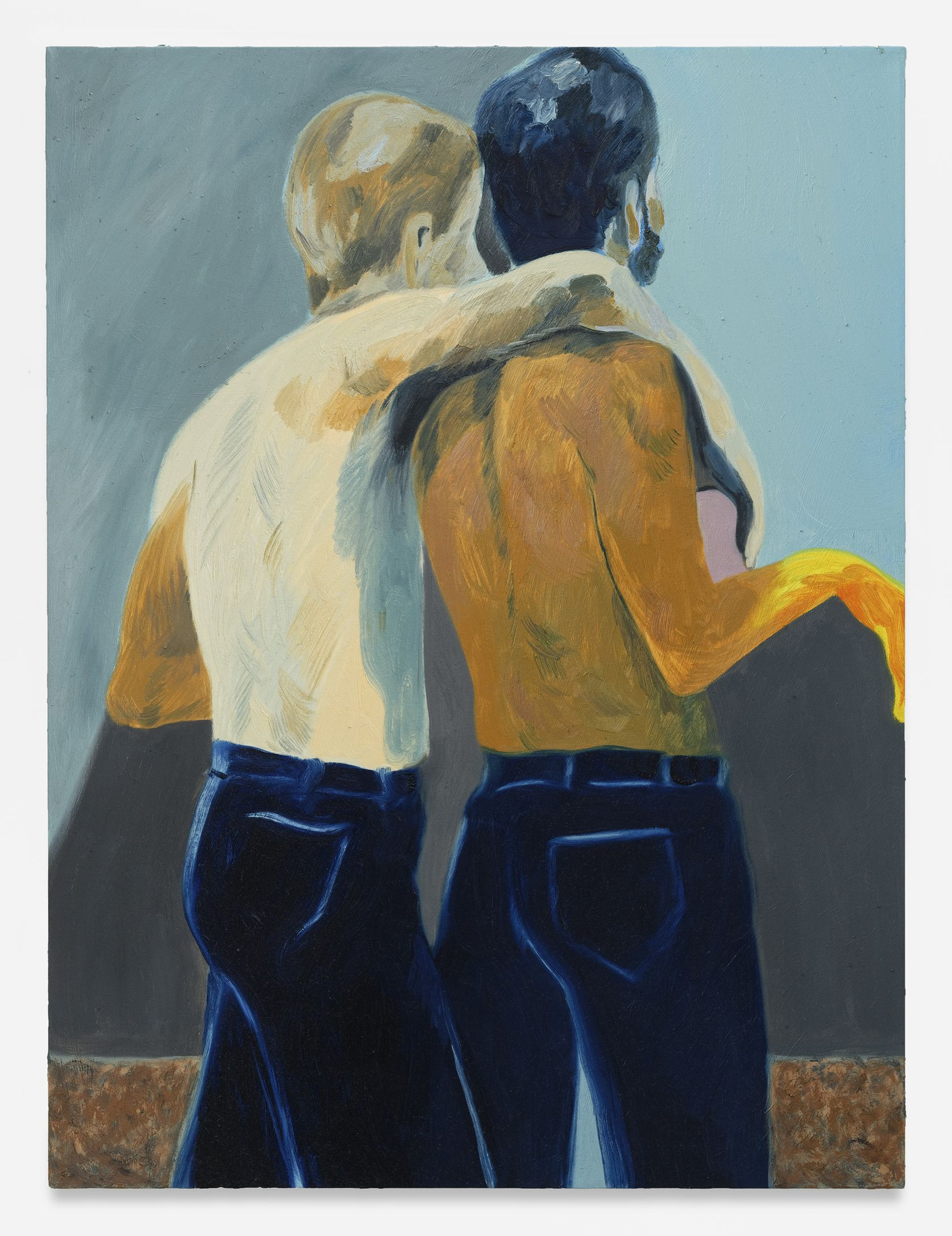 Anthony Cudahy, Twinned, 2021 Huile sur toile122 × 91 cm / 48 × 36 in.