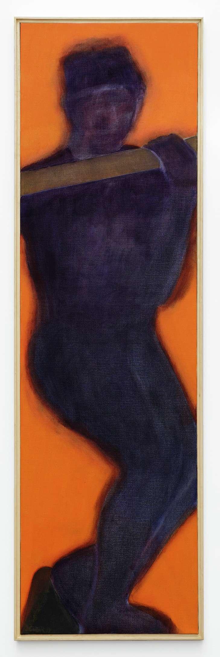 Beatriz González, 500 NN, 2007 Huile sur toile155 × 45 cm / 61  × 17 6/8 in.158 × 48 cm / 62 2/8 × 18 7/8 in. (encadré/framed)