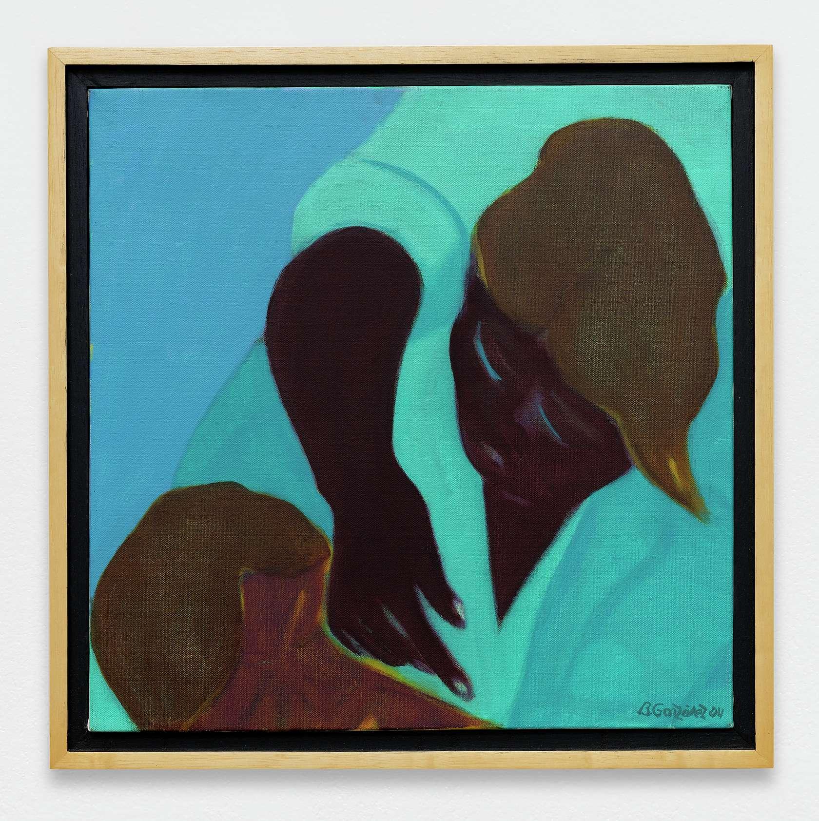 Beatriz González, Tercera Piedad, 2005 Huile sur toile45 × 45 cm / 17 6/8 × 17 6/8 in.