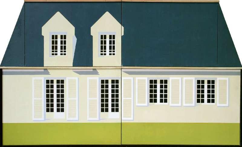 Christian Babou, Style Bretagne, 1972 Acrylique sur toile et bois137 x 200 cm / 53 7/8 x 78 6/8 inches