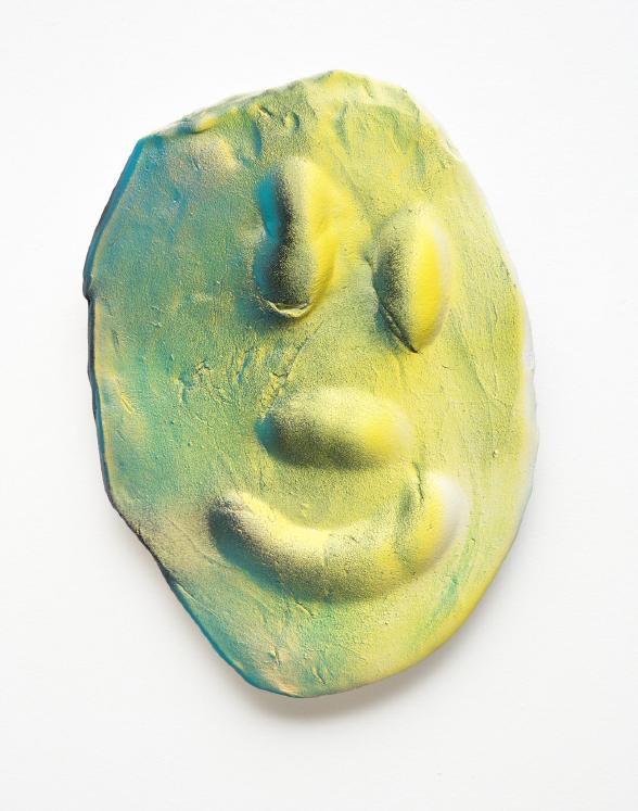 Dan McCarthy, Space Ghost # 45, 2015 Céramique36 × 25 × 5 cm / 14 × 10 × 2 in.