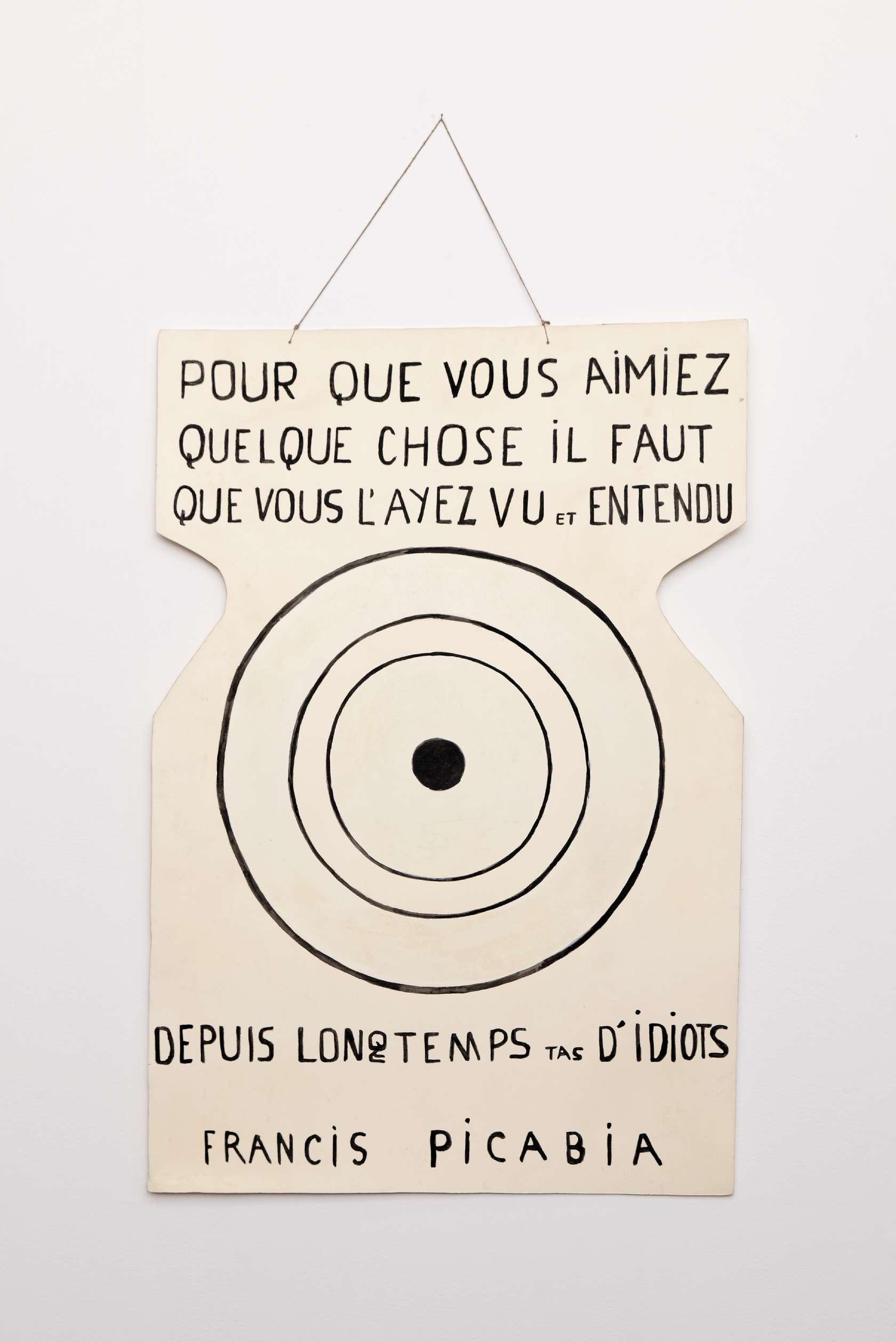 Ernest T., Sans titre, 1985 Gouache et peinture acrylique sur carton - 3 ex. + 1109 x 74 cm / 42 7/8 x 29 1/8 inches