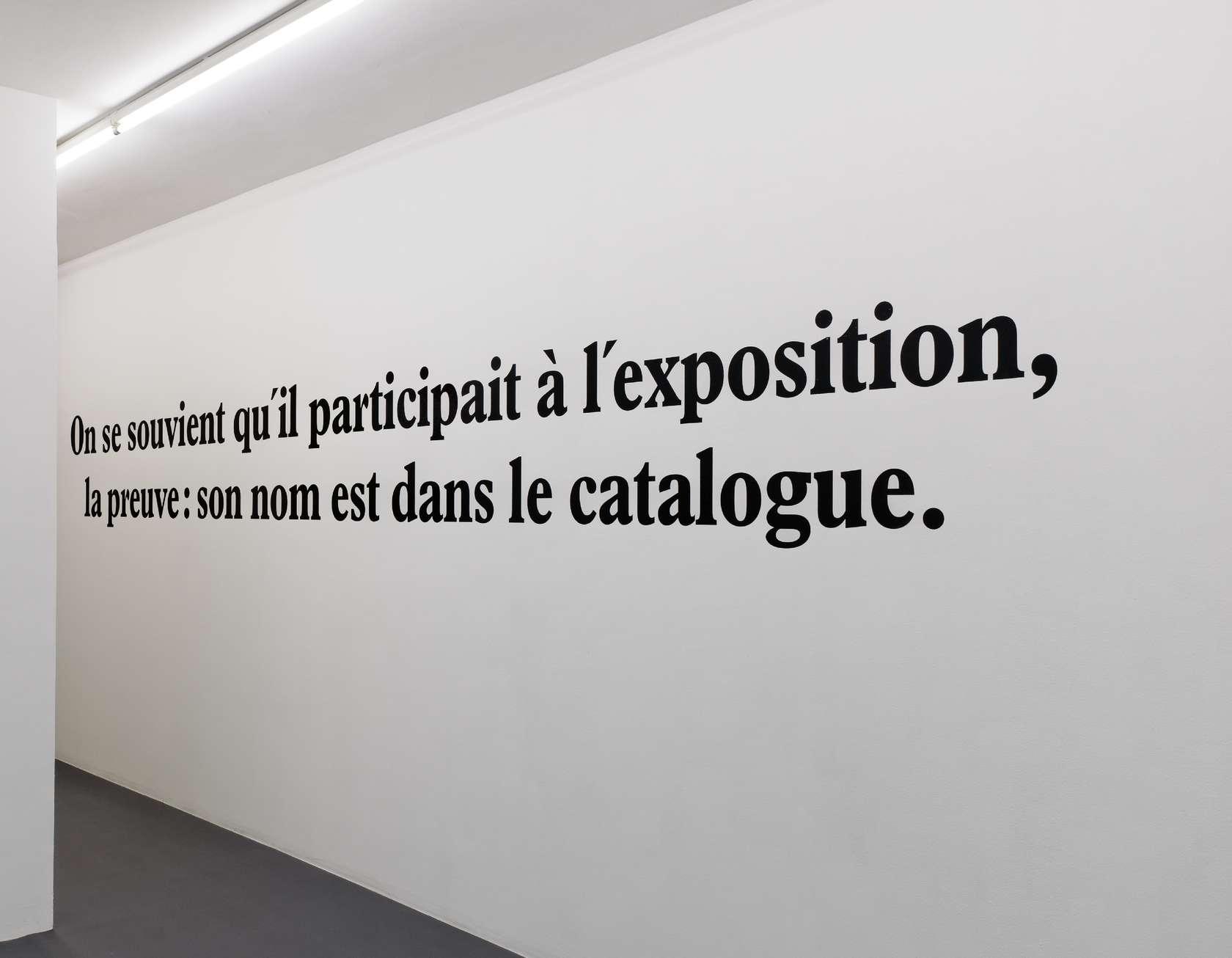 Ernest T., Sans titre, 1988 Mural, papier adhesif