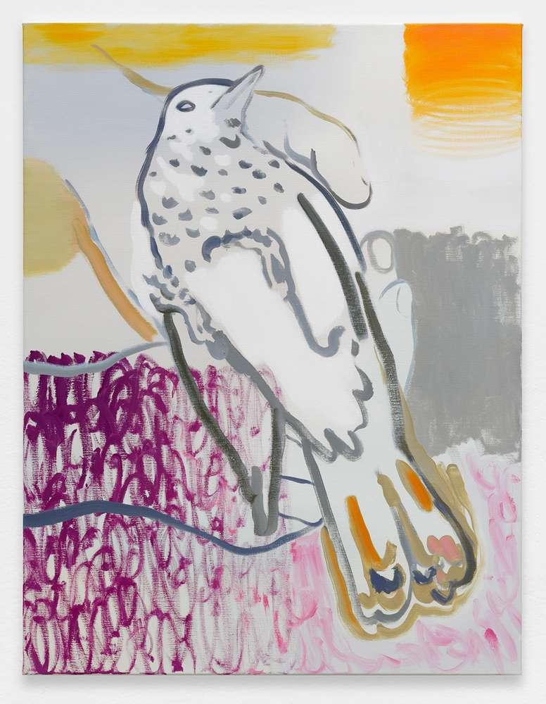 Françoise Pétrovitch, Sans titre, 2018 Huile sur toile116 × 89 cm / 45 5/8 × 35  in.