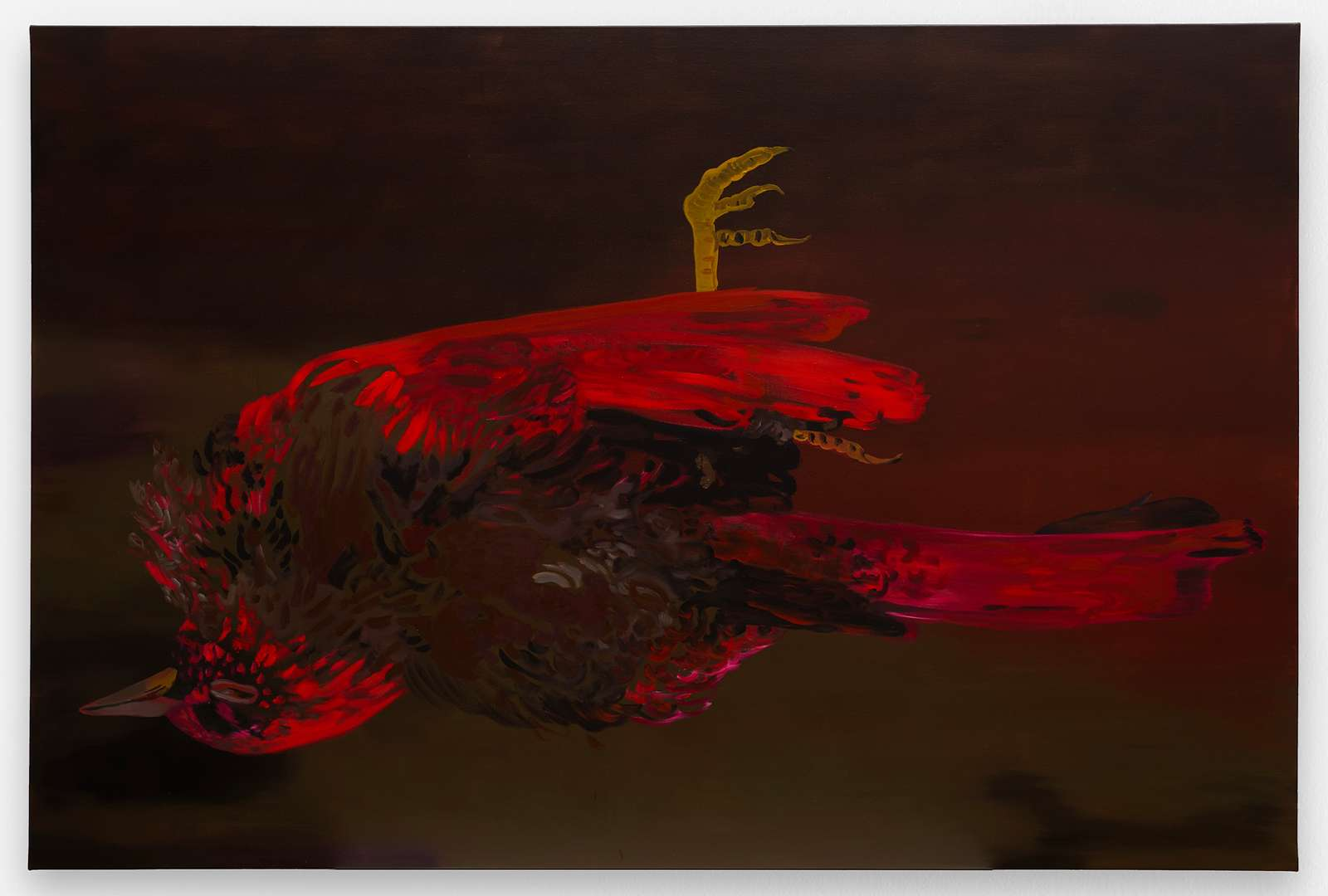 Françoise Pétrovitch, Nocturne, 2017 Huile sur toile160 x 240 cm / 63  x 94 1/2 inches