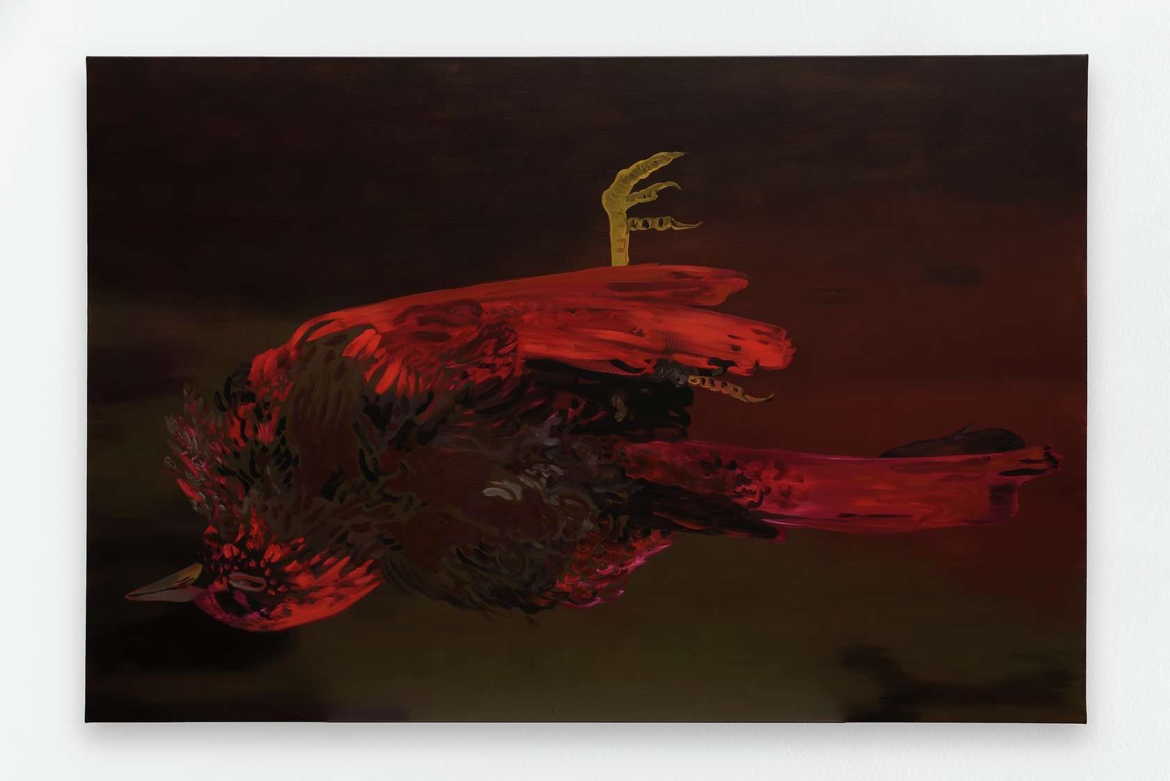 Françoise Pétrovitch, Nocturne, 2017 Huile sur toile160 × 240 cm / 63  × 94 1/2 in.