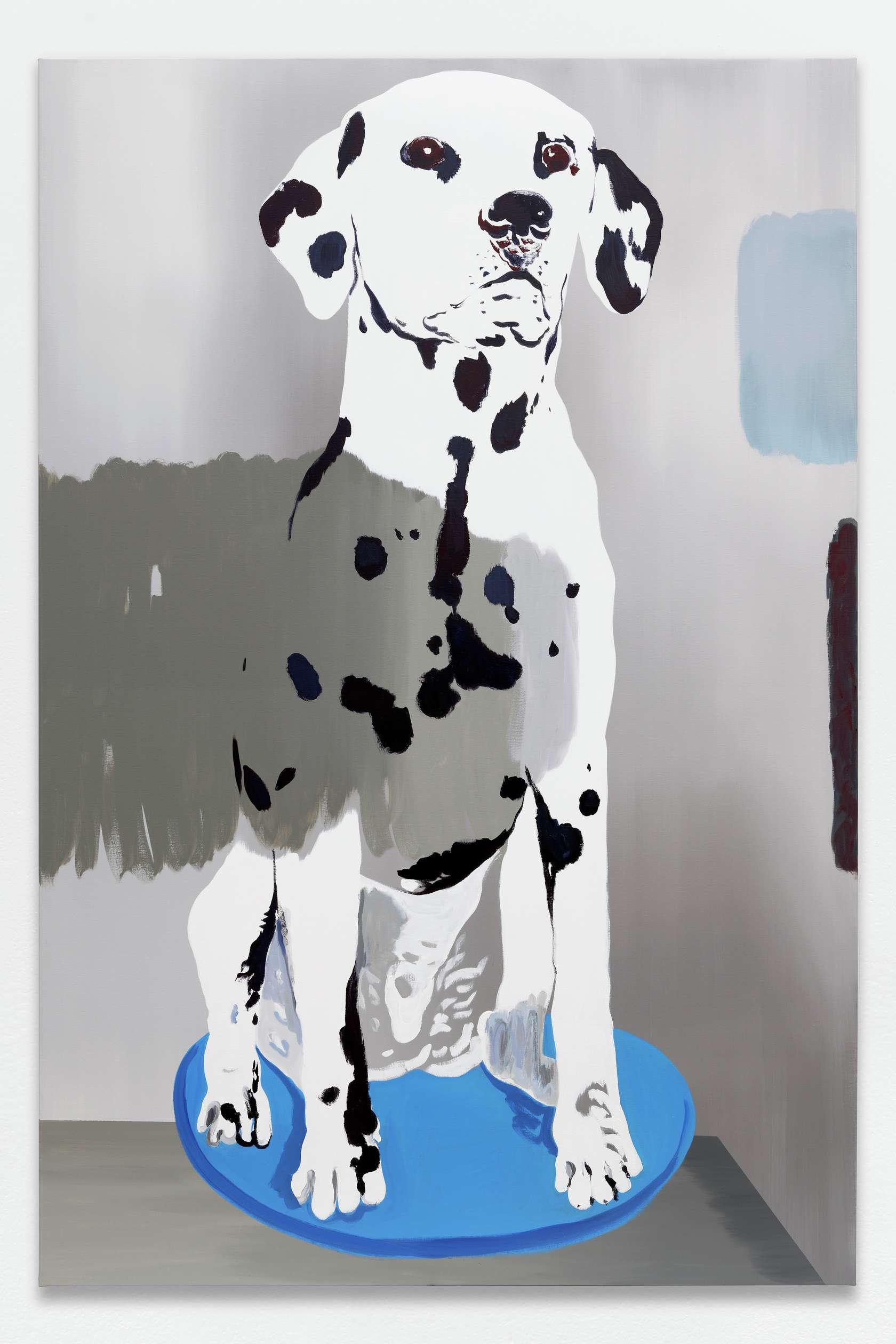 Françoise Pétrovitch, Sans titre, 2020 Huile sur toile240 × 160 cm / 94 1/2 × 63  in.