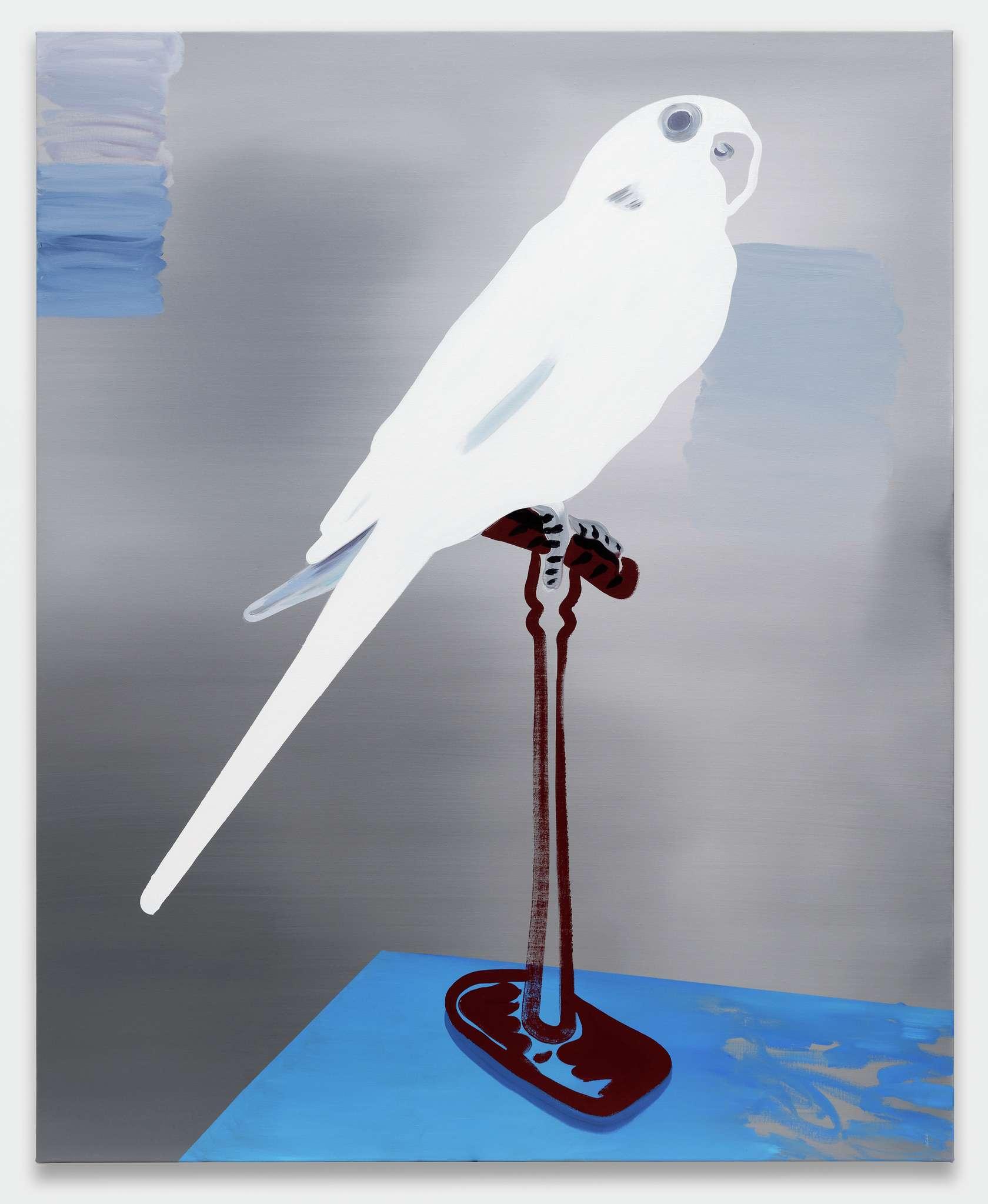 Françoise Pétrovitch, Sans titre, 2020 Huile sur toile160 × 130 cm / 63  × 51 1/8 in.