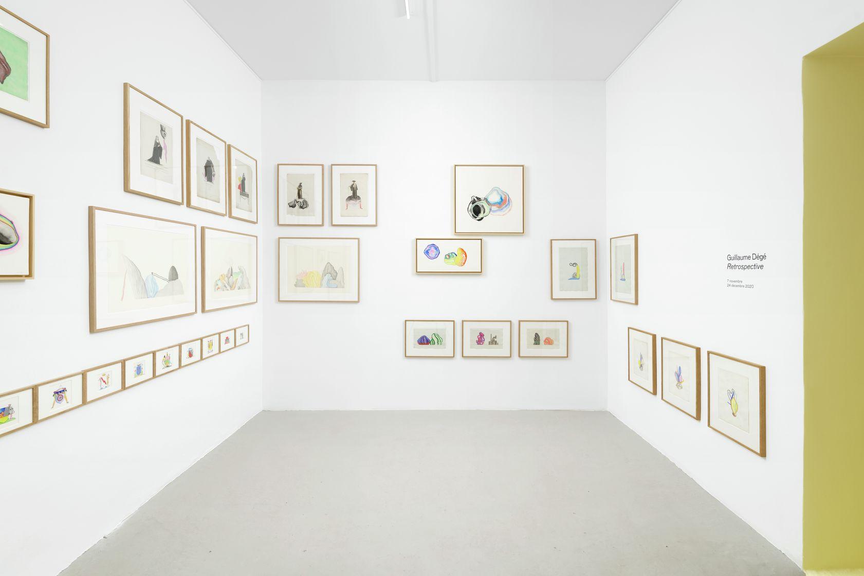 Guillaume Dégé Retrospective Project Room 7 novembre  — 24 décembre 2020