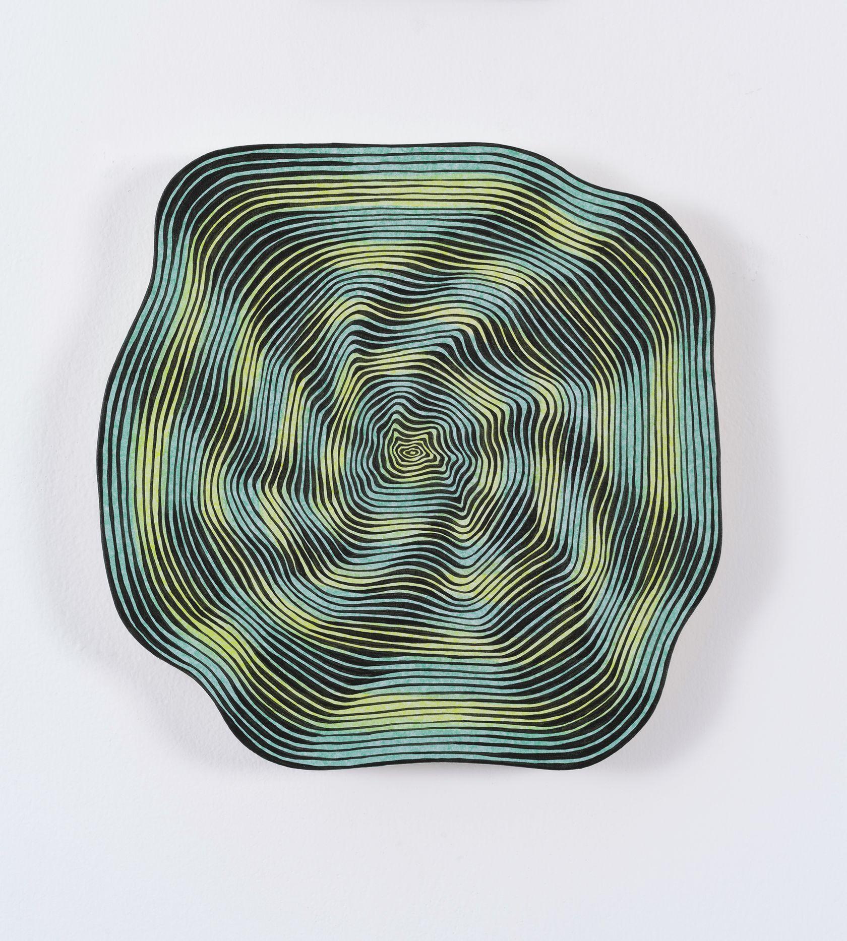 Guillaume Pilet, Planful Problem Solving, 2020 Acrylique sur toile31 × 31 cm / 12 2/8 × 12 2/8 in.