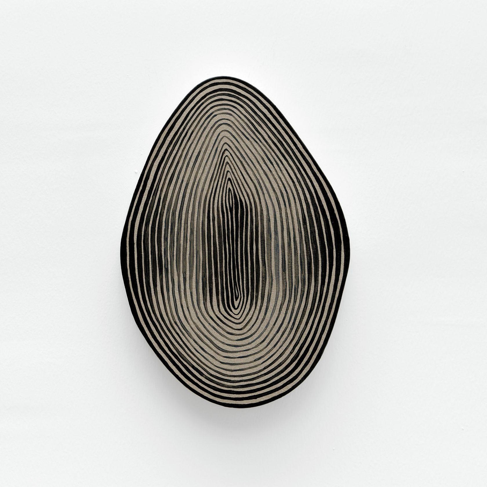 Guillaume Pilet, Defense Cascade, 2020 Acrylique sur toile25 × 17 cm / 9 7/8 × 6 6/8 in.