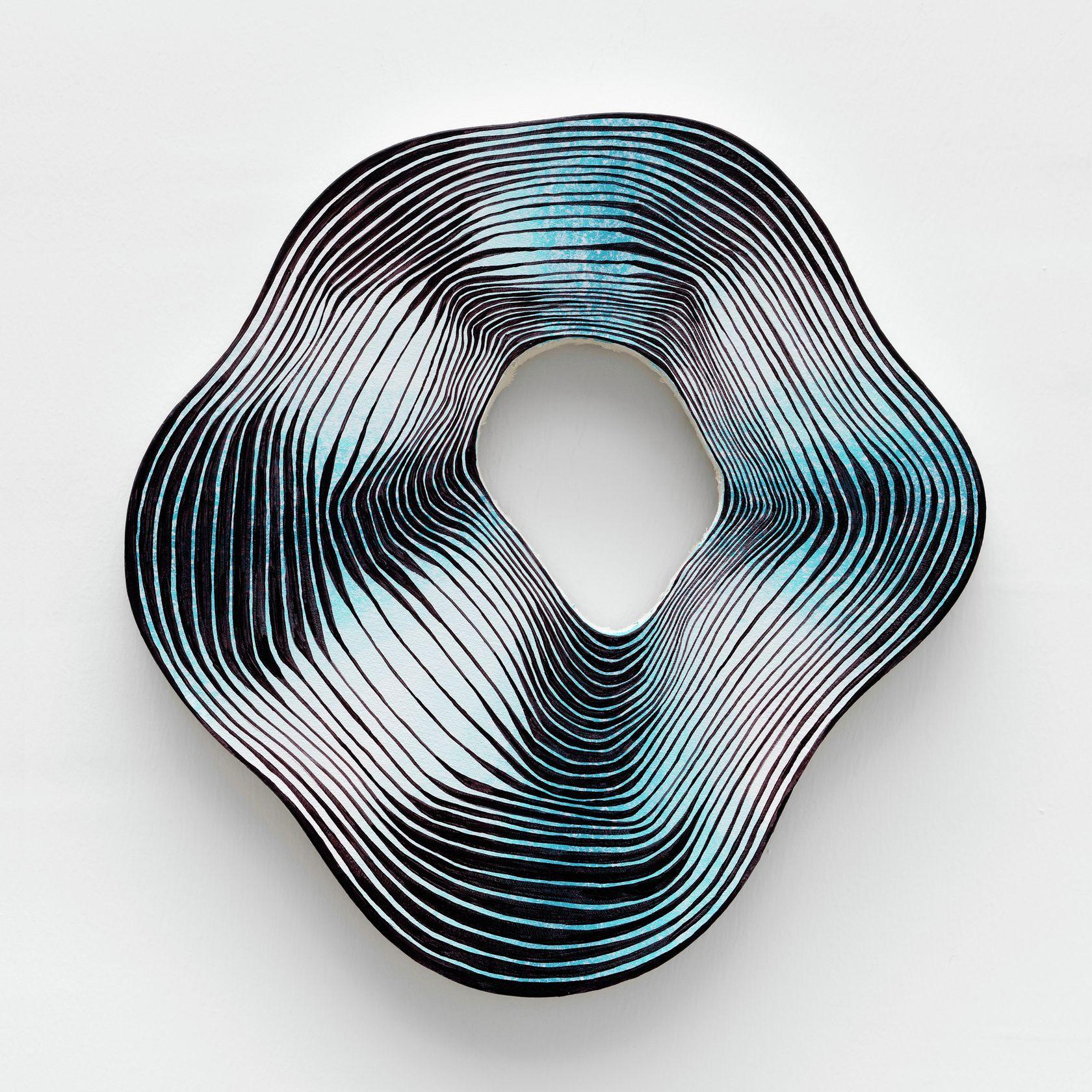 Guillaume Pilet, Startle Reflex, 2020 Acrylique sur toile32 × 28 cm / 12 5/8 × 11  in.