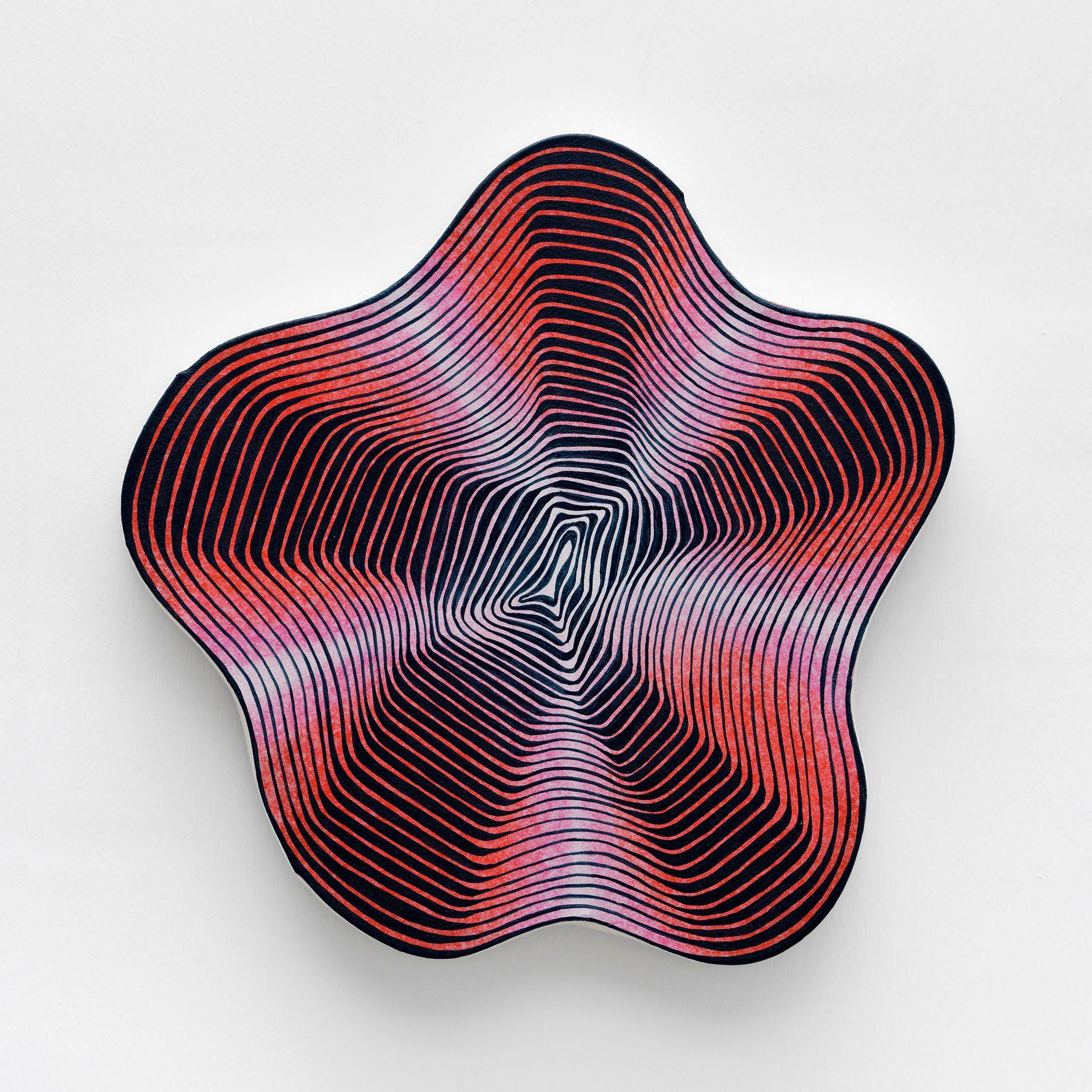 Guillaume Pilet, Skin Conductance Response, 2020 Acrylique sur toile29 × 30 cm / 11 3/8 × 11 6/8 in.