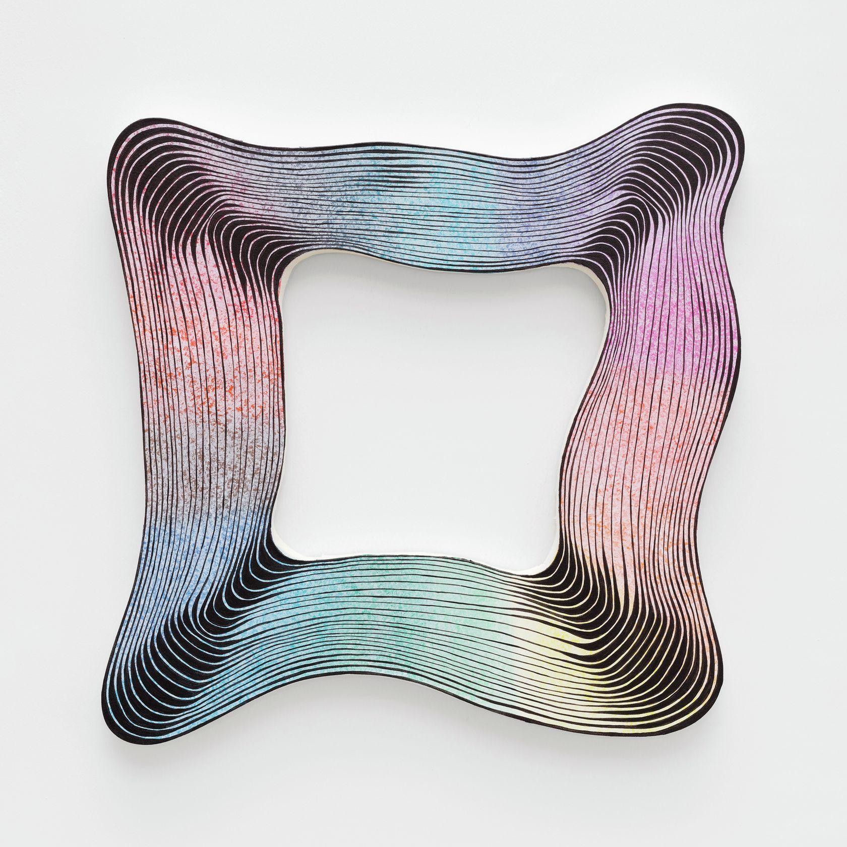 Guillaume Pilet, Positive Reappraisal, 2020 Acrylique sur toile55 × 55 cm / 21 5/8 × 21 5/8 in.