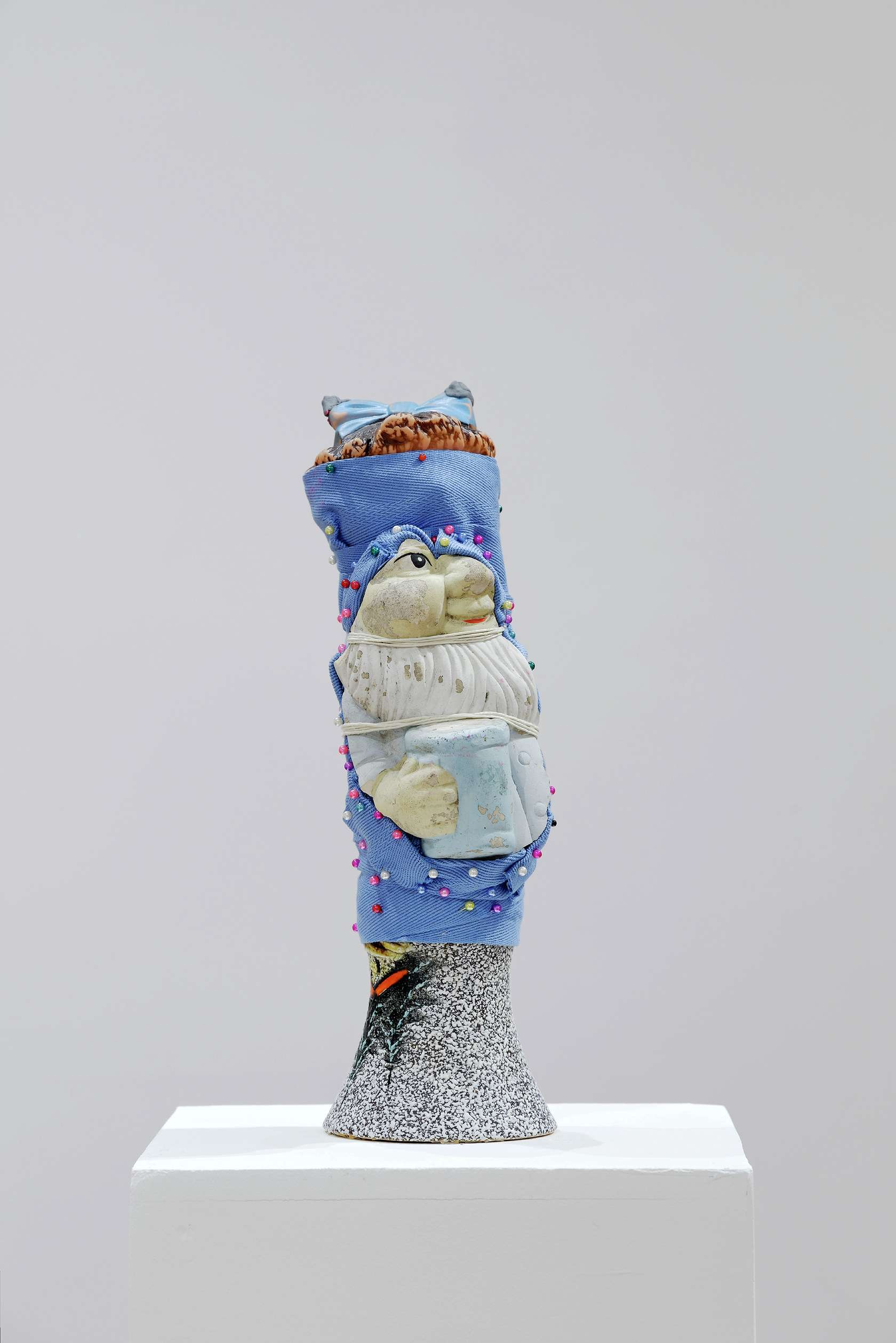 Hippolyte Hentgen, De la série des Vallauris, 2015 Assemblage30 x 12 x 12 cm / 11 6/8 x 4 6/8 x 4 6/8 inches