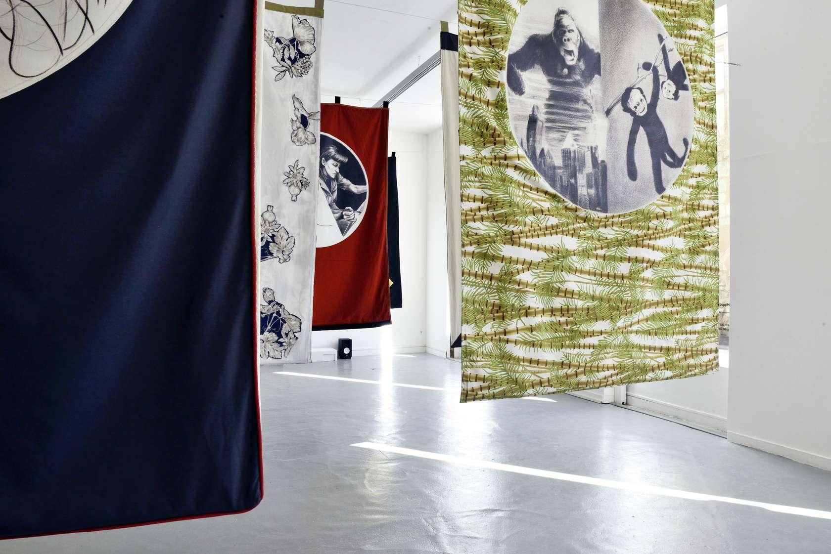 Hippolyte Hentgen Shut the Fuck Up, 40ème anniversaire du Centre Pompidou, Traversées Ren@rdes Semiose 5 octobre  — 24 novembre 2017