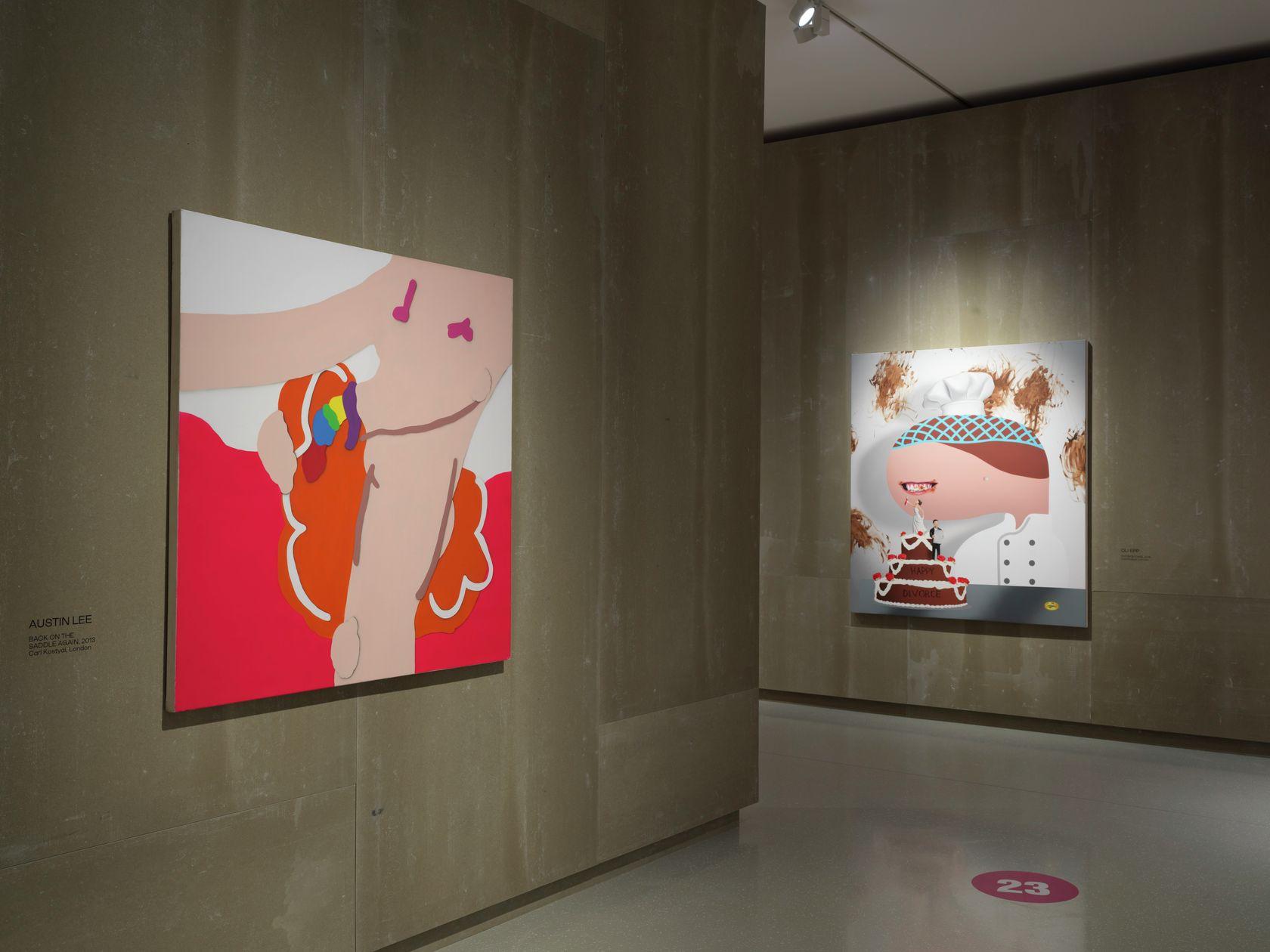 Oli Epp, Friends and Friends of Friends (group)  - Schlossmuseum - Linz 30 septembre 2020 — 6 janvier 2021
