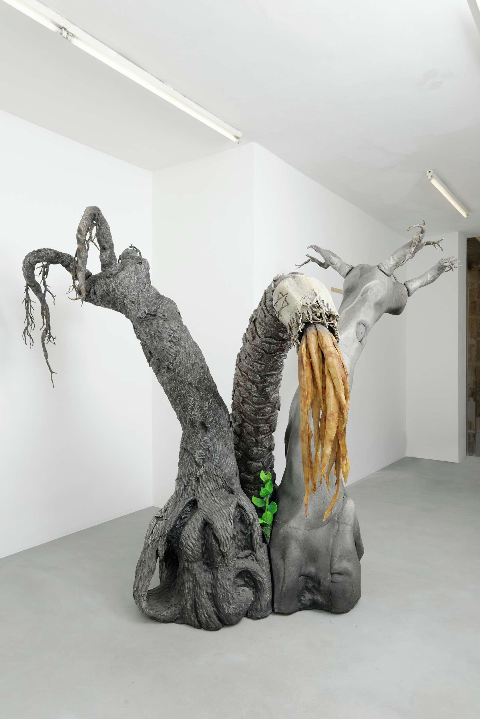 Piero Gilardi, Poiesis, 2004 Mousse de polyuréthane et installation sonore