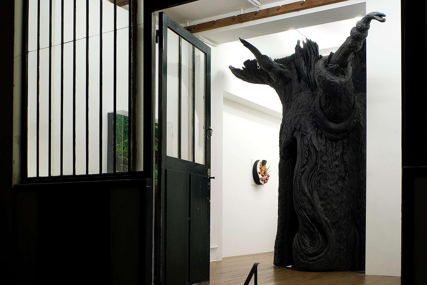 Piero Gilardi, Phosphor, 2008 Mousse de polyurethane et dispositif électronique280 x 360cm / 110 2/8 x 141 6/8inches