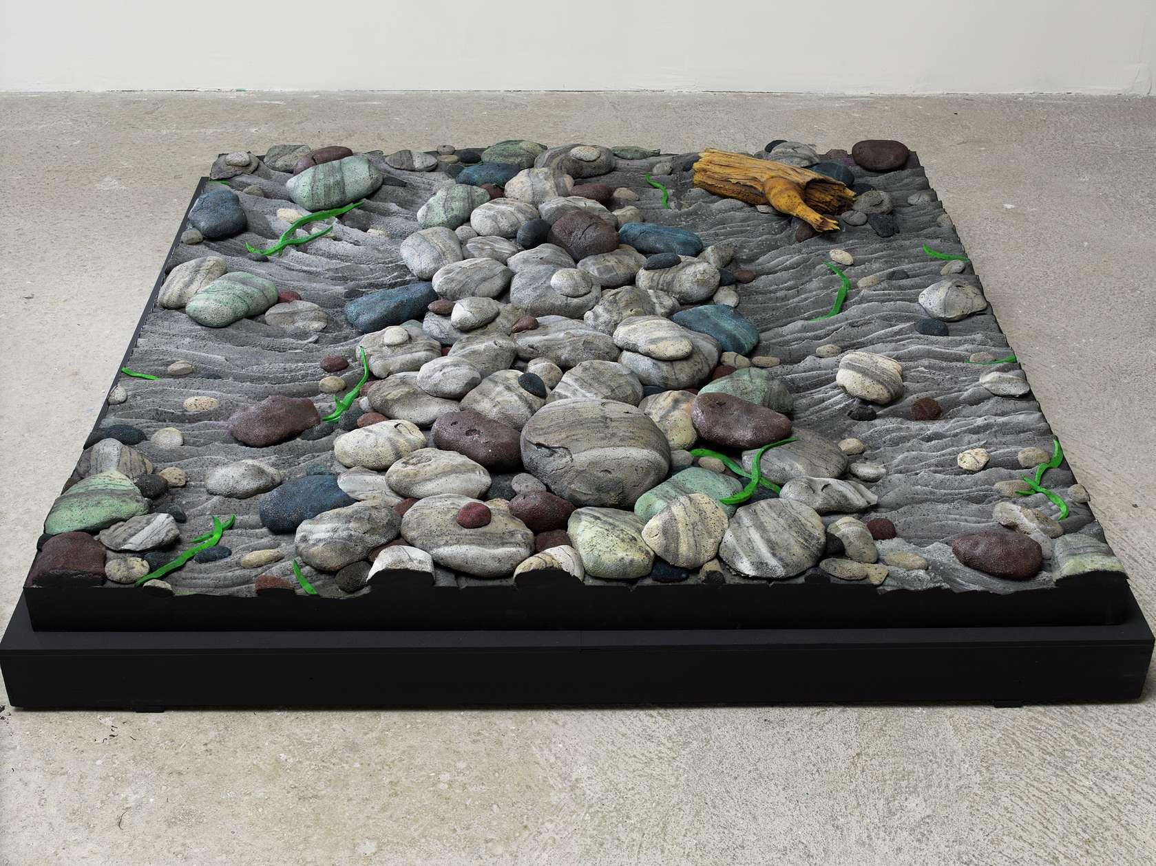 Piero Gilardi, Sassi, 1967 Mousse de polyuréthane152 × 152 × 18 cm / 59 7/8 × 59 7/8 × 7 1/8 in.