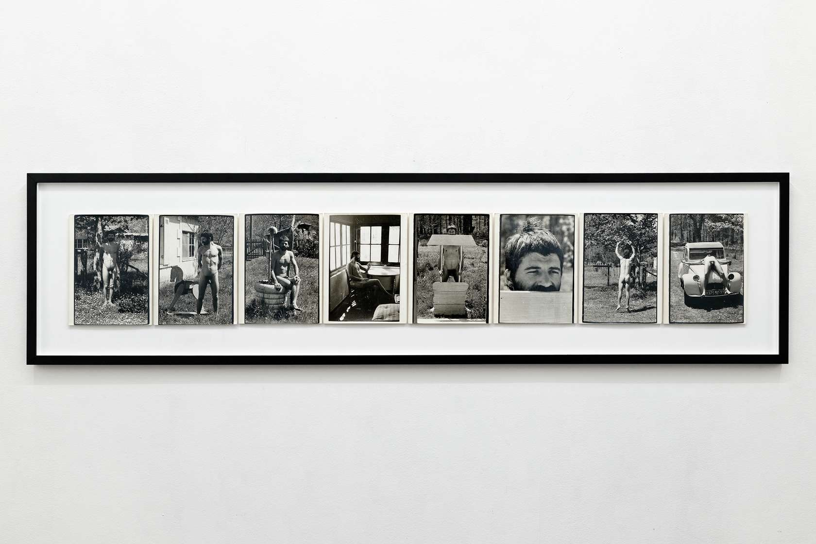 Présence Panchounette, Mission Appolo, 1974 Tirage argentique original d'époque24 x 18 cm / 9 1/2 x 7 1/8 inches