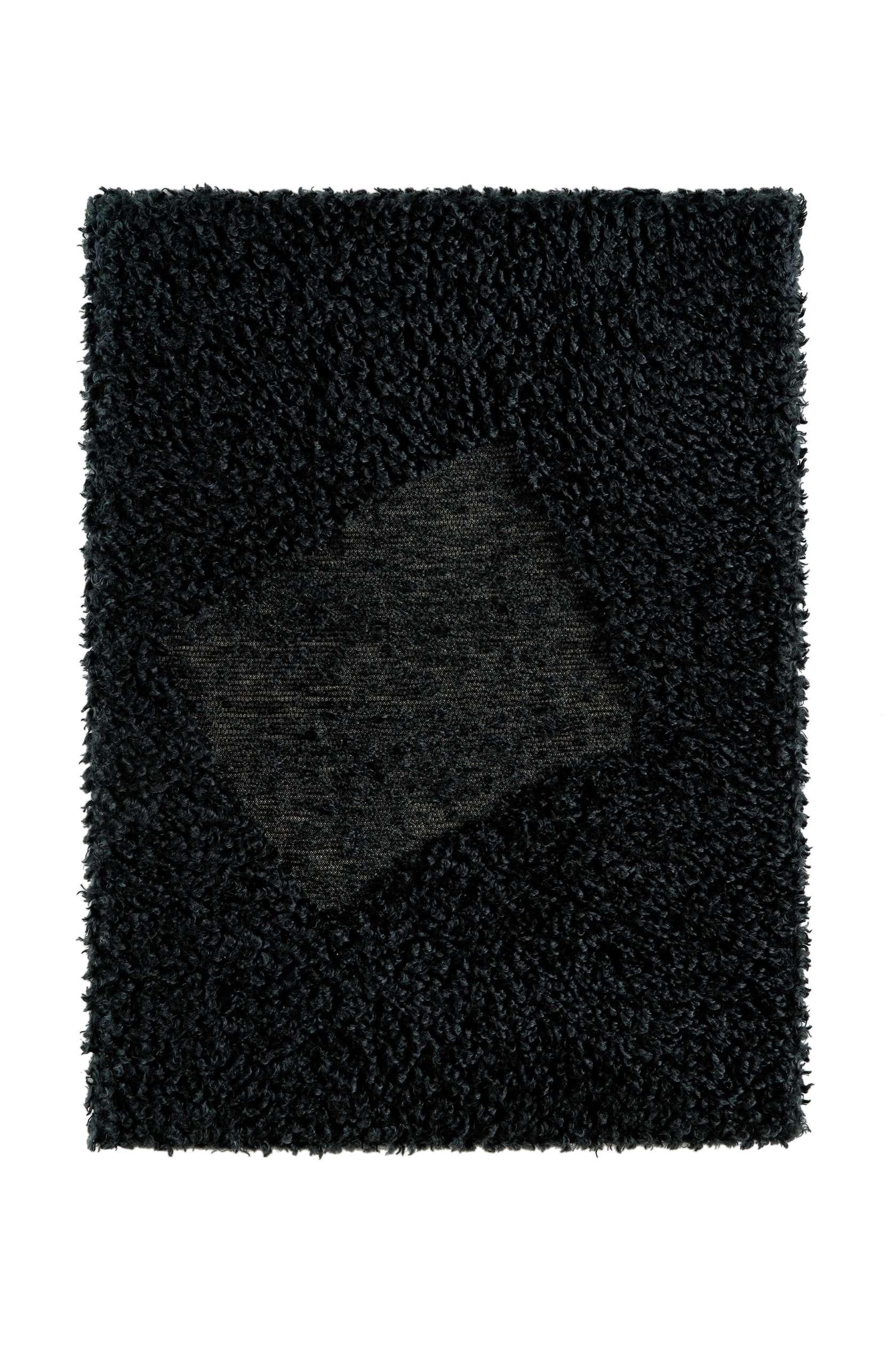 Présence Panchounette, Rasé tondu ou toile caniche, 1983 Moquette rasée tendue sur chassis75 x 56cm / 29 1/2 x 22 inches
