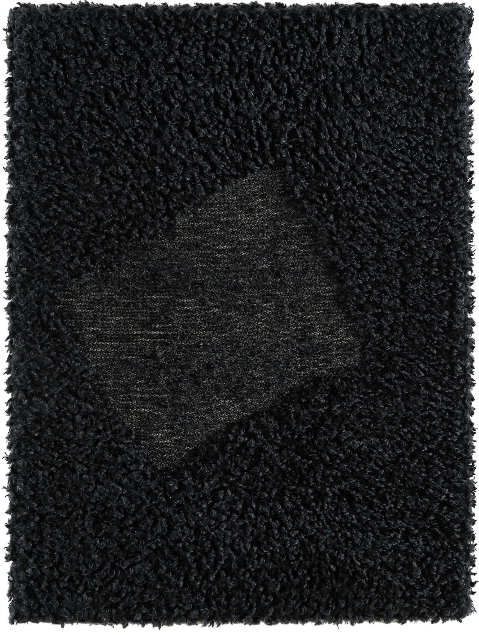 Présence Panchounette, Rasé tondu ou toile caniche, 1983 Moquette rasée tendue sur chassis75 x 56 cm / 29 1/2 x 22  inches