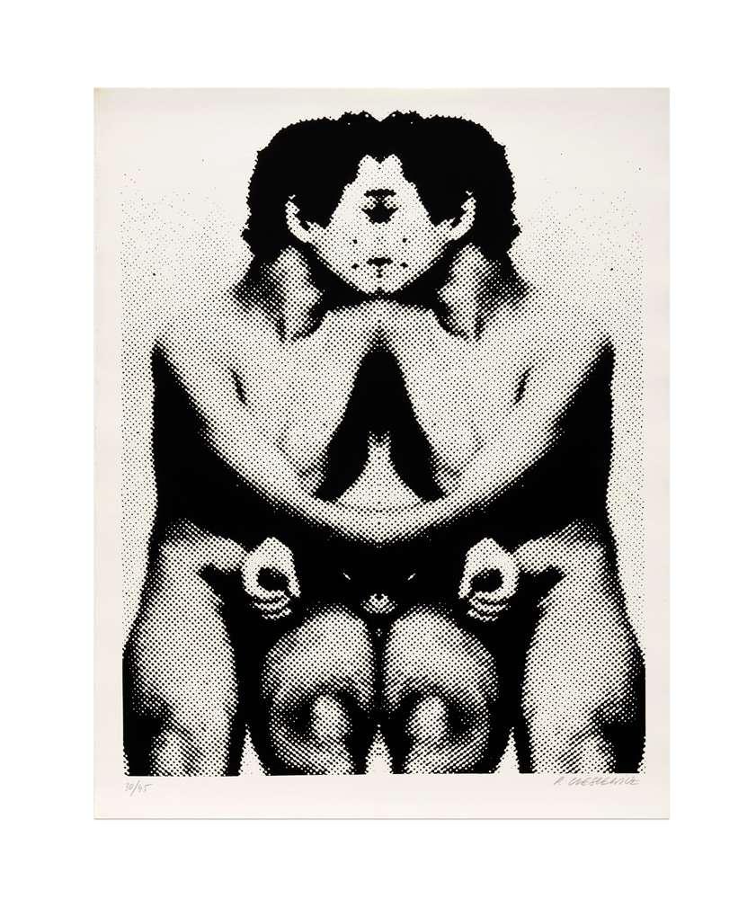 Roman Cieslewicz, Garçon I, 1974 Sérigraphie - Édition de 45 ex.64 × 50.5 cm / 25 2/8 × 19 7/8 in.
