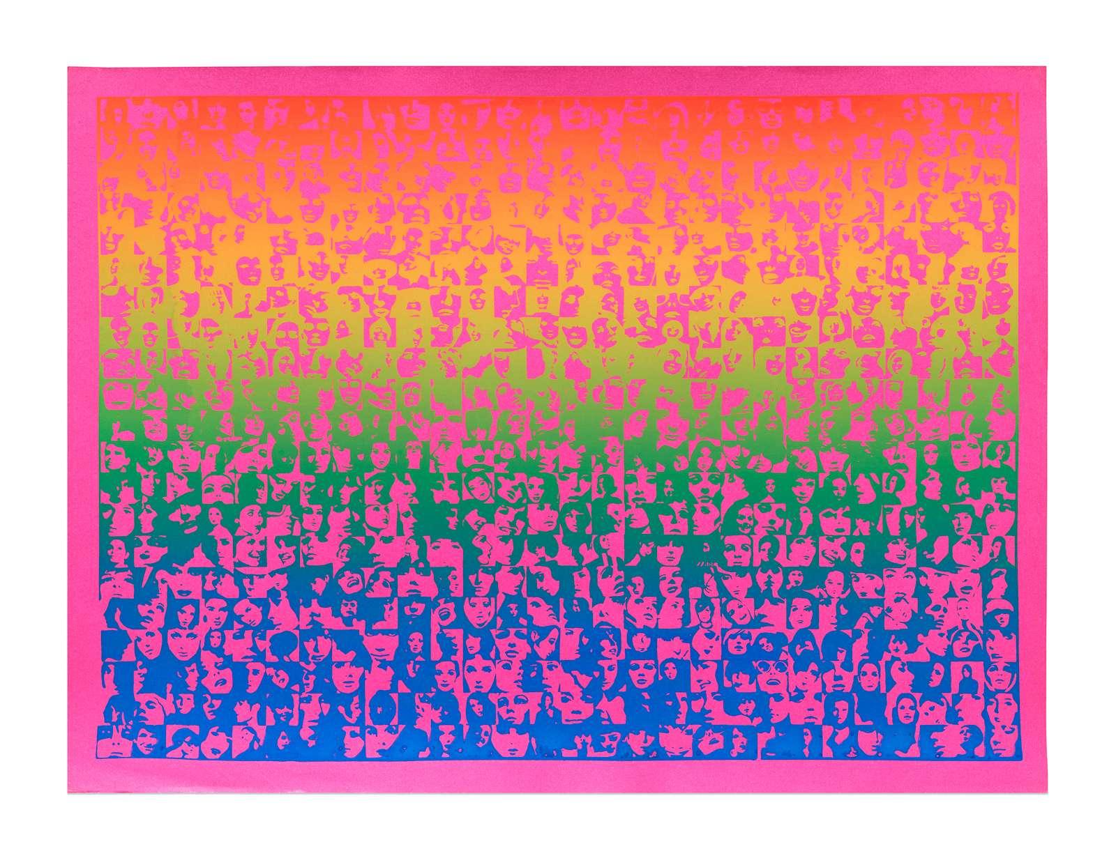 Roman Cieslewicz, Harem, 1968 Sérigraphie24.2 x 32.8 cm / 9 1/2 x 12 7/8 inches