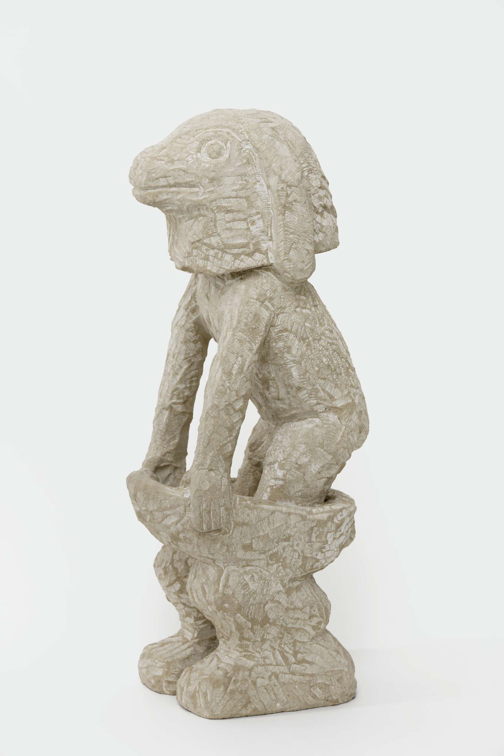 Stefan Rinck, False Rabbit, 2012 Grès50 × 20 × 15 cm / 19 5/8 × 7 7/8 × 5 7/8 in.