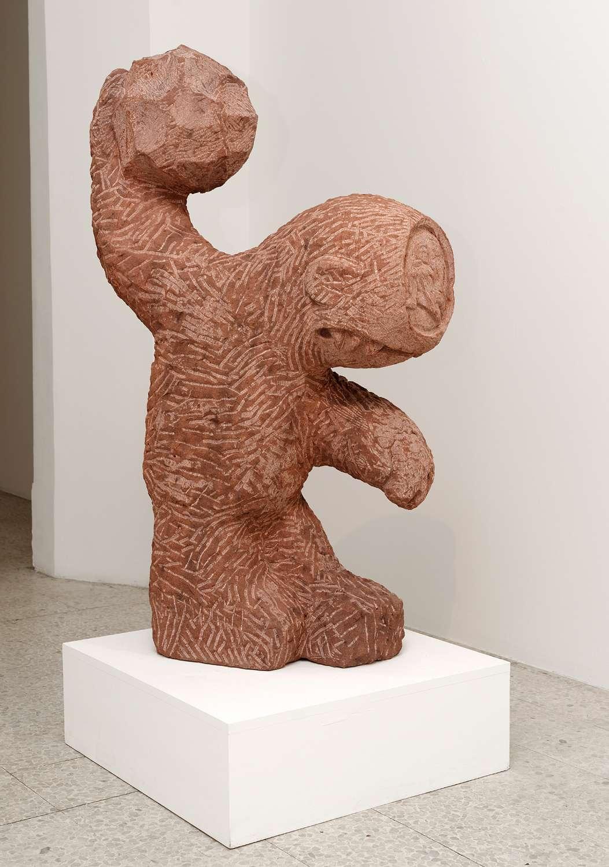 Stefan Rinck, Polyphemus, 2016 Grès120 x 70 x 35 cm / 47 2/8 x 27 1/2 x 13 6/8 inches