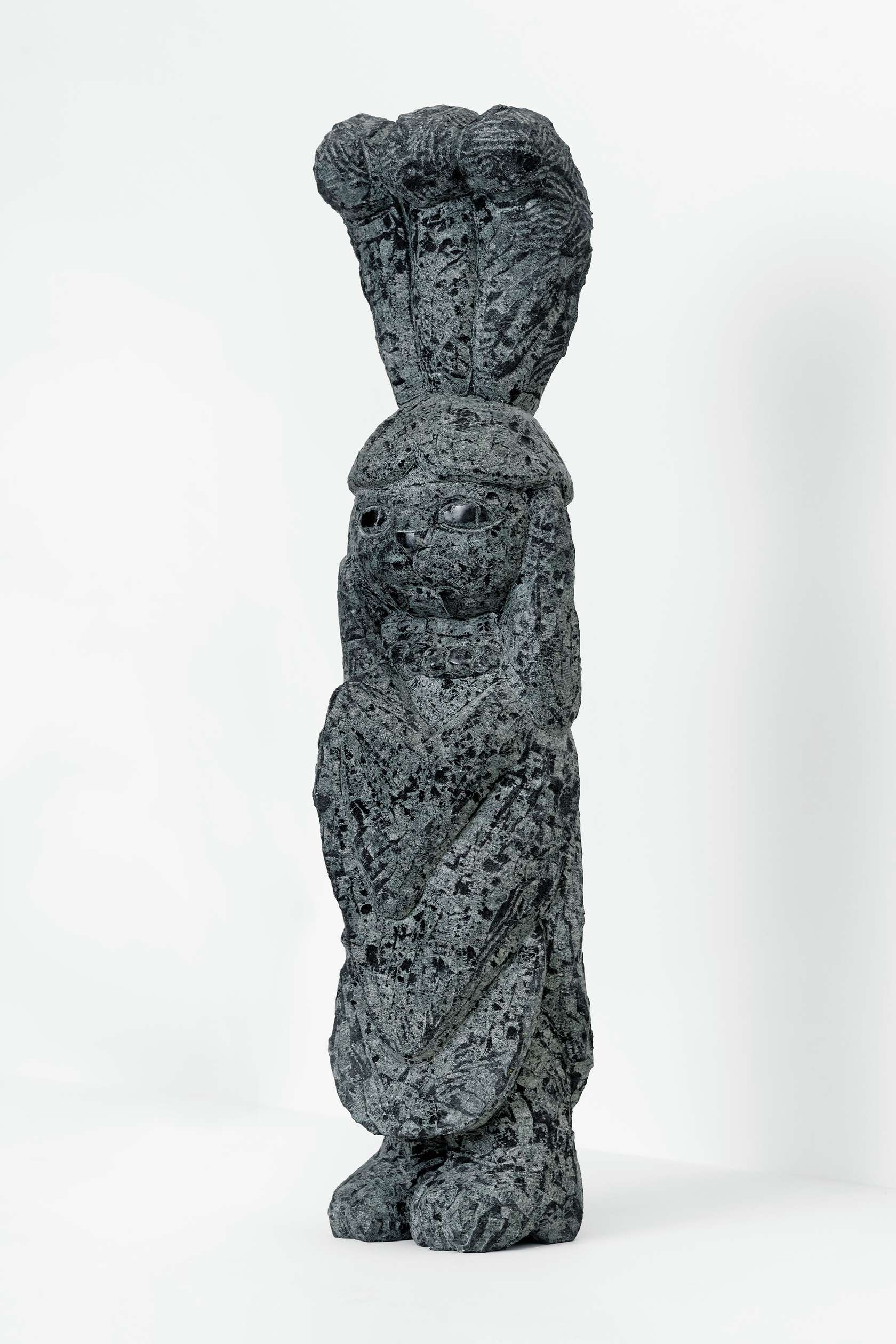Stefan Rinck, Mistinguett, 2019 Diabase70 × 17 × 13 cm / 27 1/2 × 6 6/8 × 5 1/8 in.