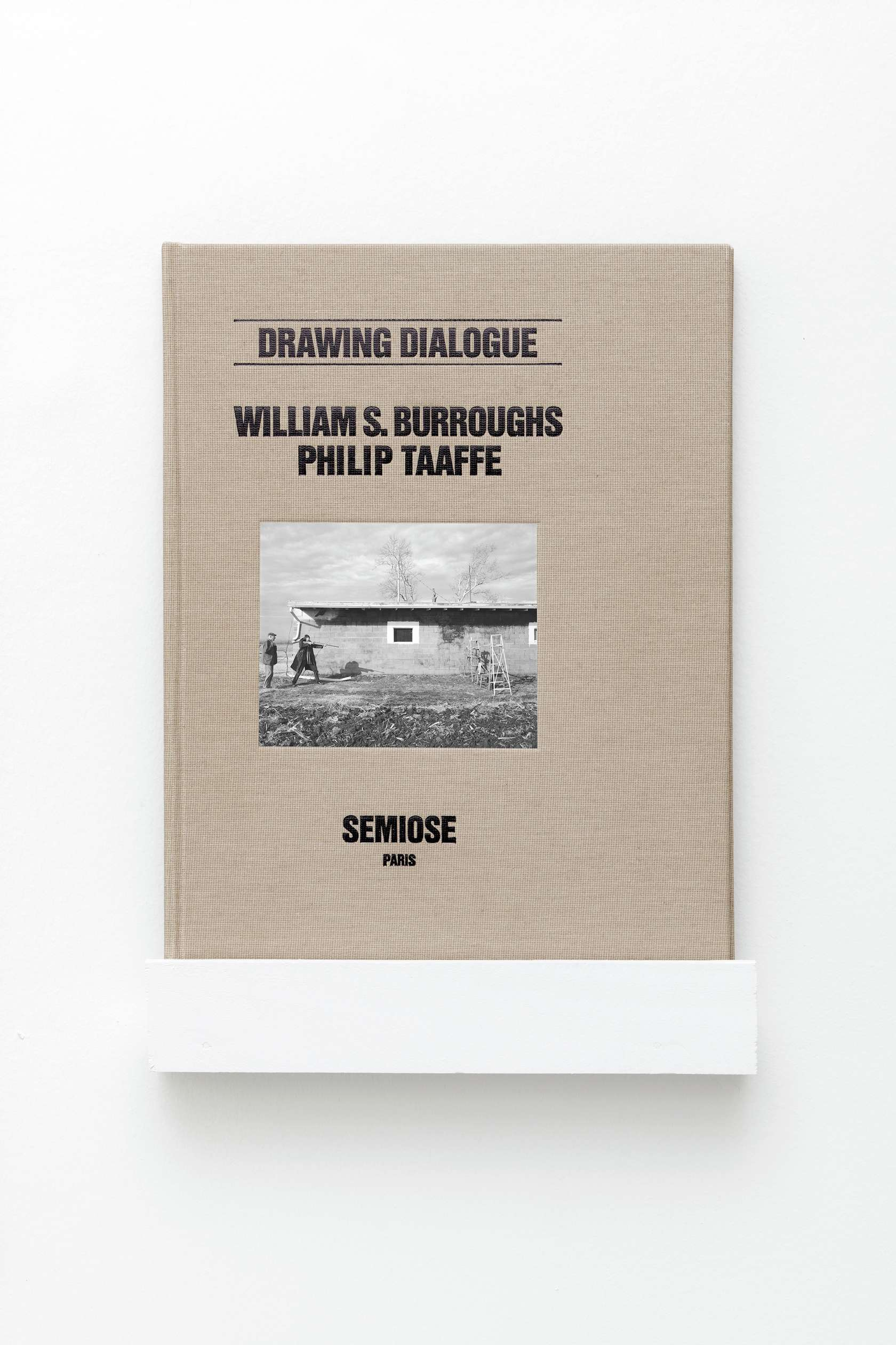 William S. Burroughs & Philip Taaffe, Drawing Dialogue  13 avril  — 11 mai 2019