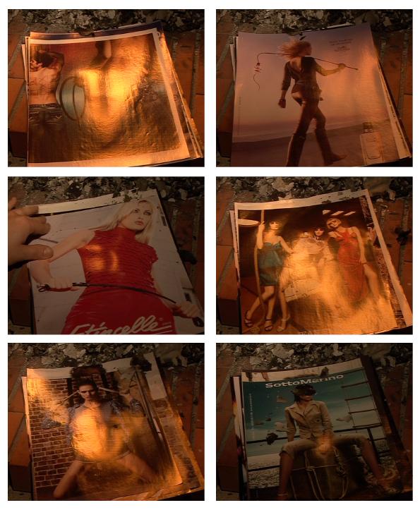 documentation céline duval, Les allumeuses 1998-2010, S&M, 2011 Video numérique 4/3 et son stéréo, lecture en boucle4min02s