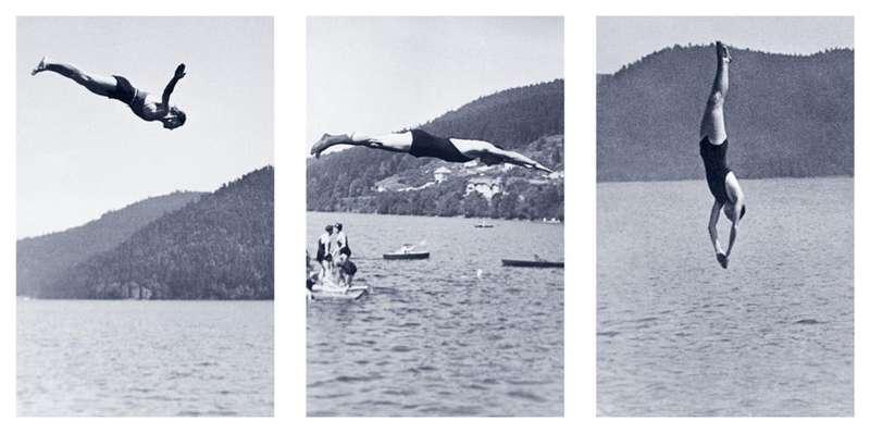 documentation céline duval, L'engagement, 2011 Encre et polymère sur PET129.5 × 85 cm / 51  × 33 1/2 in.