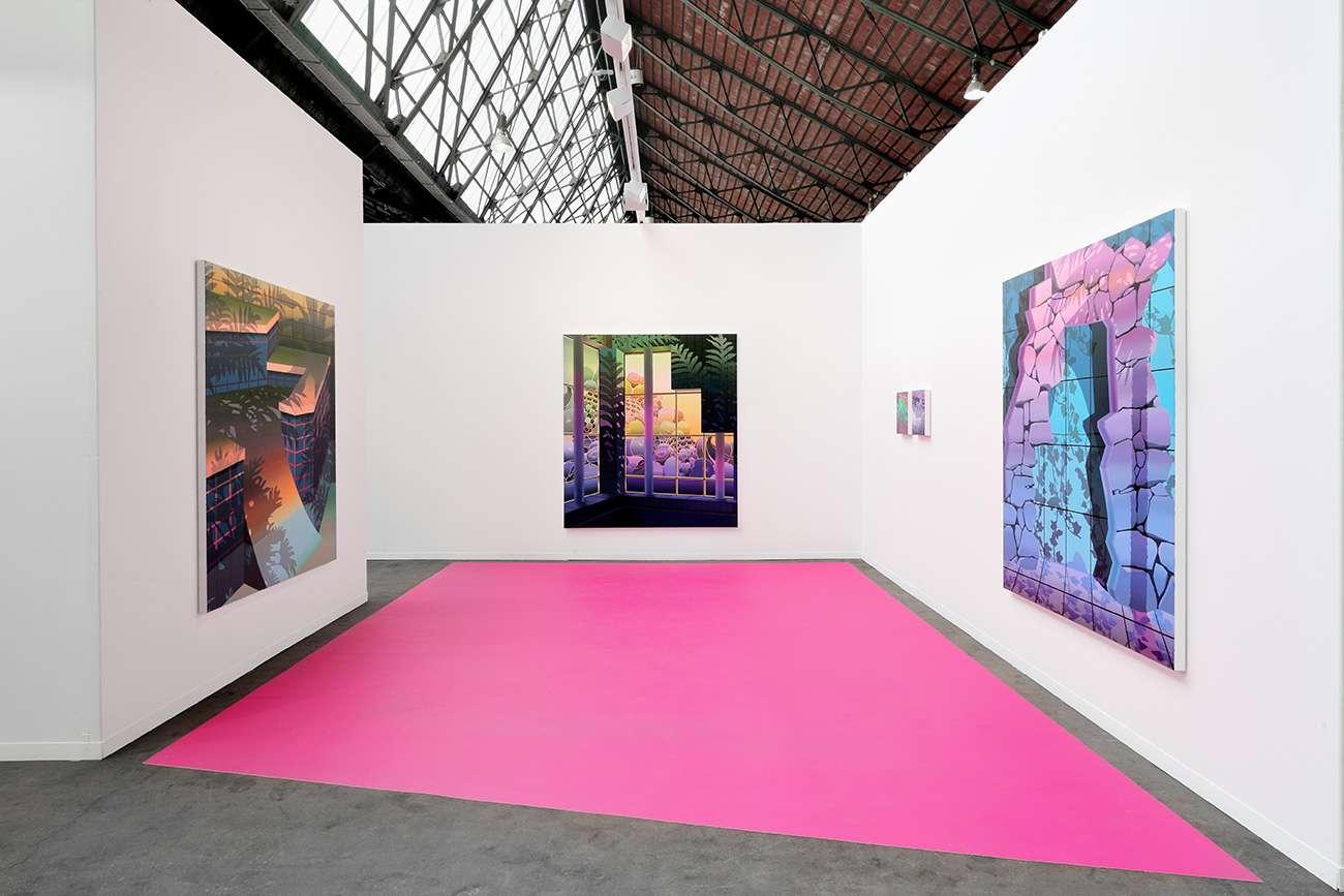 Art Brussels, Brussels (BE)Salvatore Arancio, Amélie Bertrand, William S. Burroughs, Françoise Pétrovitch & Beat Zoderer 25 — 28 avril 2019