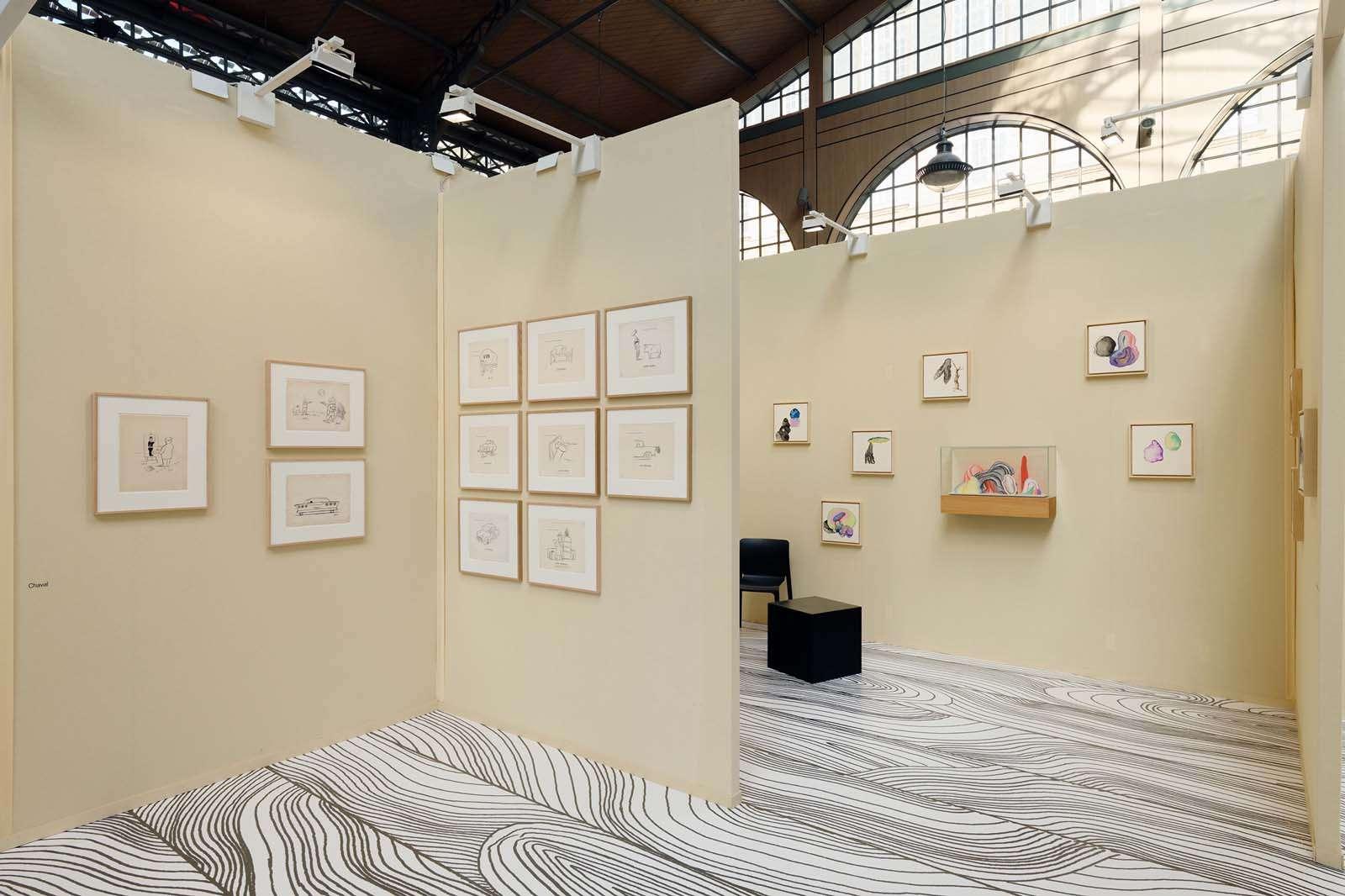 Drawing Now, Paris (FR)Chaval, Guillaume Dégé, Hippolyte Hentgen, Thomas Lanfranchi & Françoise Pétrovitch 28 — 31 mars 2019