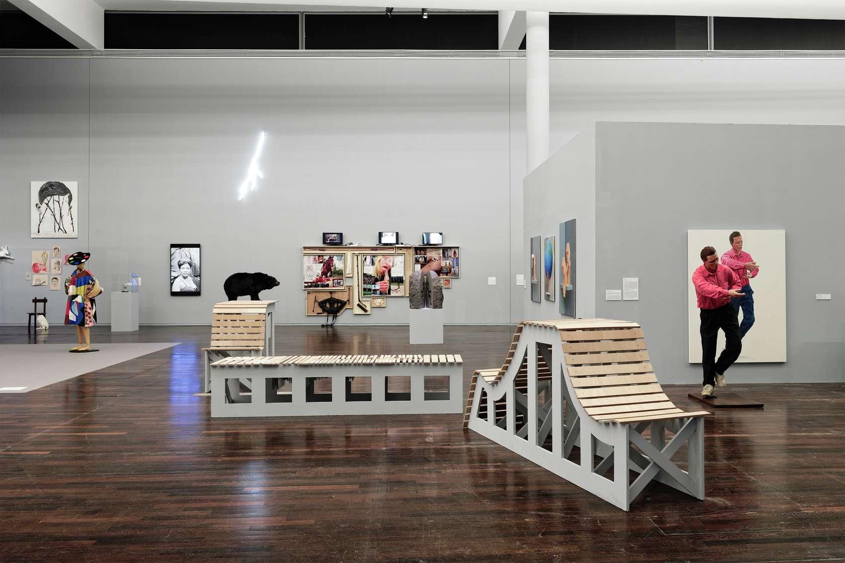 Françoise Pétrovitch & Abraham Poincheval Lignes de vies - une exposition de légendes - MAC / VAL Semiose 30 mars  — 25 août 2019