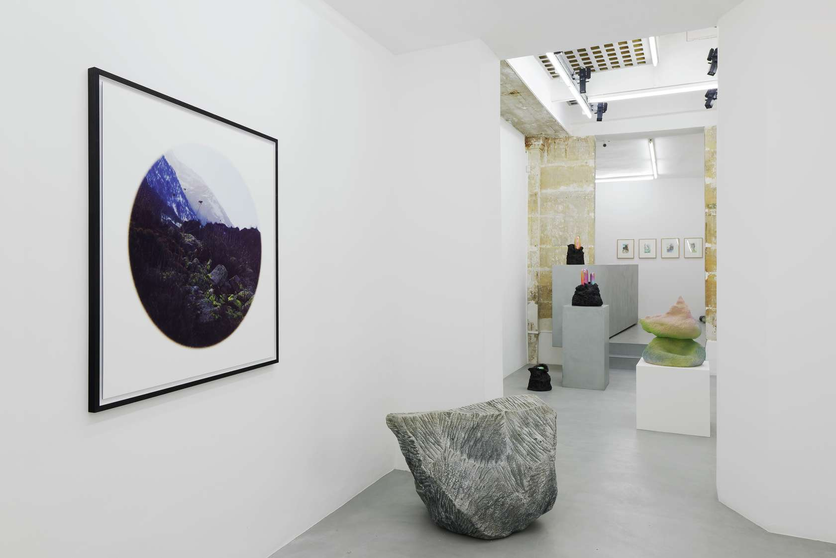 Salvatore Arancio, Piero Gilardi & Abraham Poincheval, Rock Garden 6 janvier  — 17 février 2018